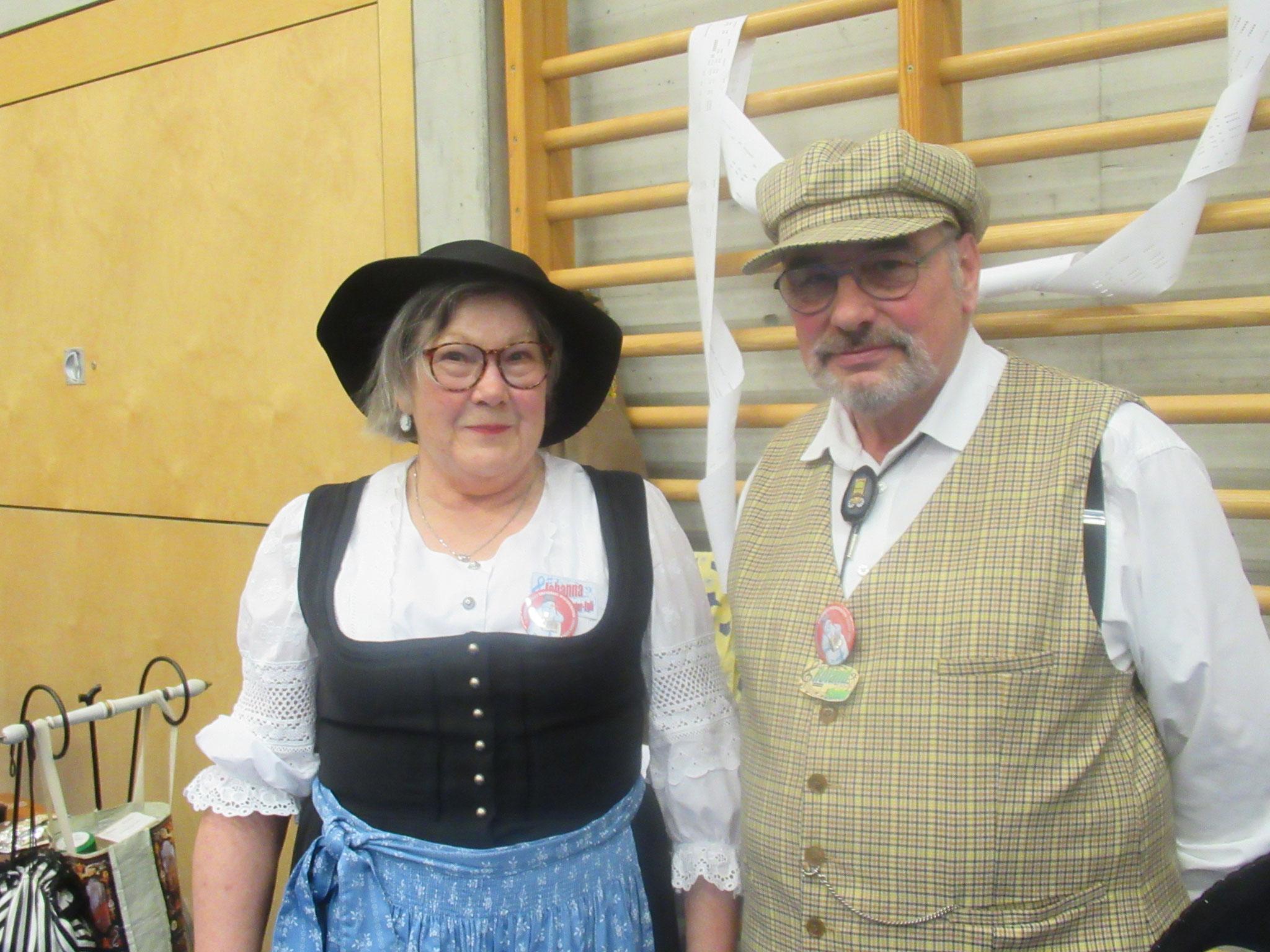Johanna und Roland Suter aus Allschwil