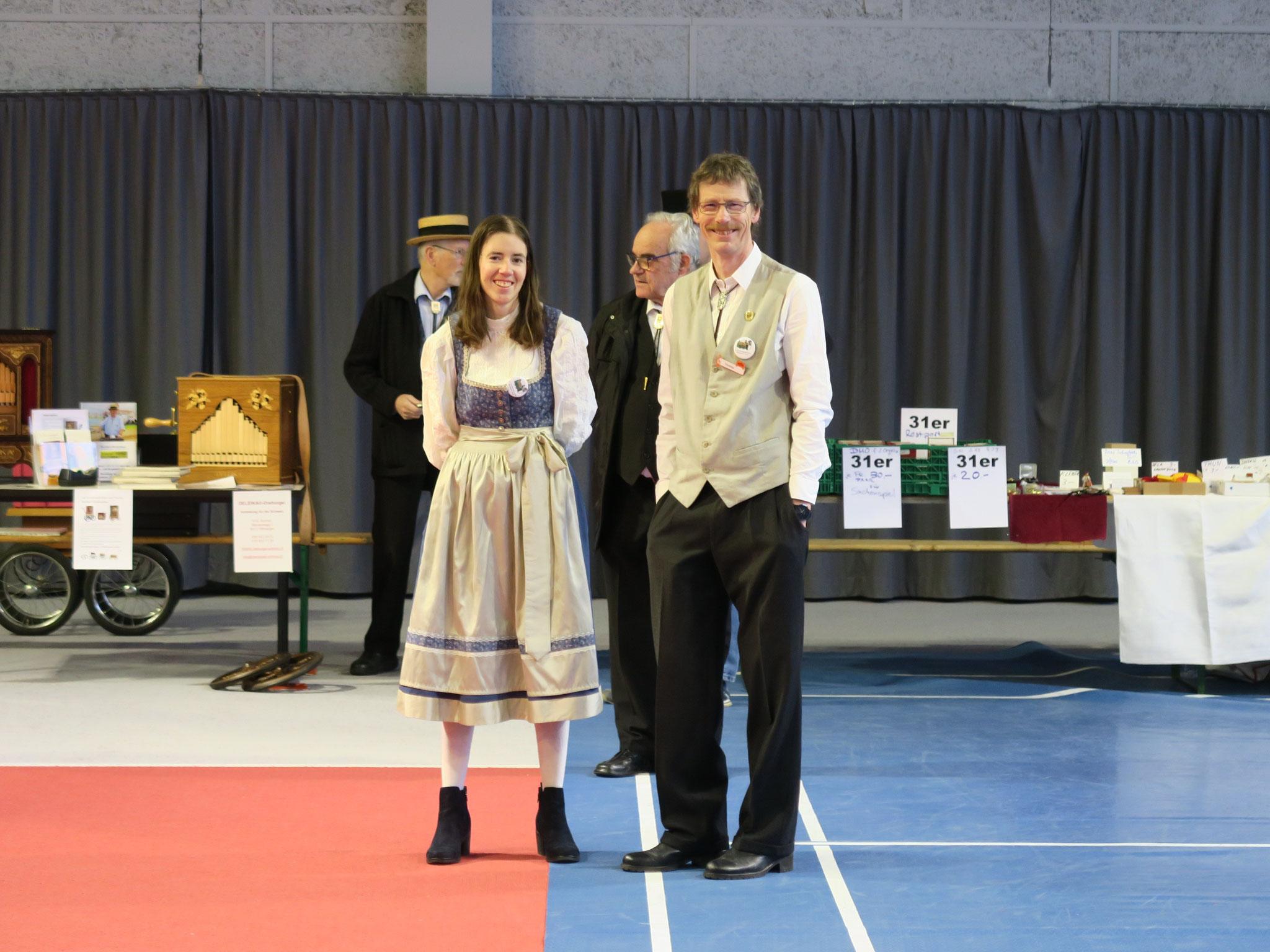 Vater und Tochter Miriam und Thomas Schumacher.