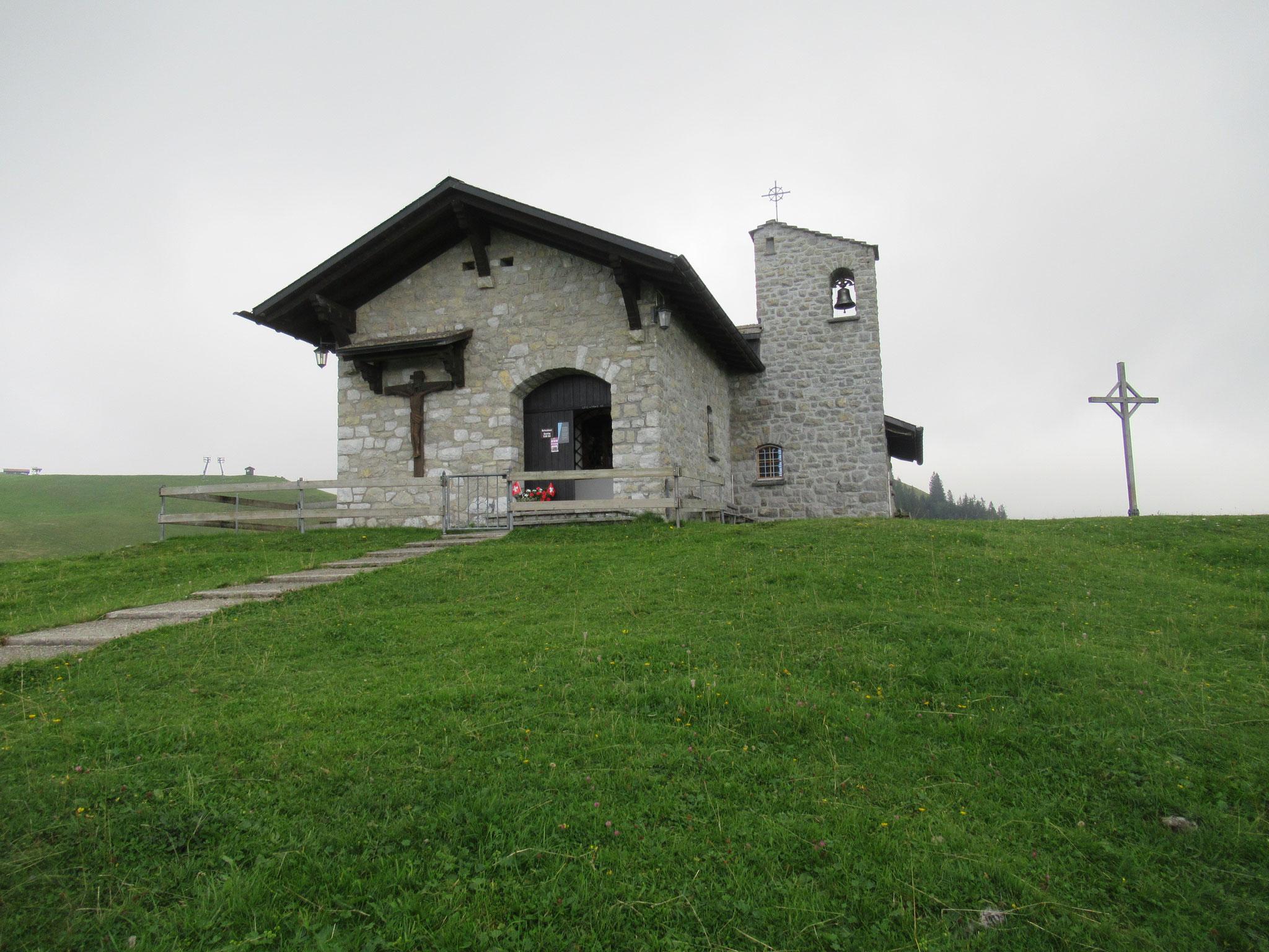 Die schmucke Kapelle auf Klewenalp
