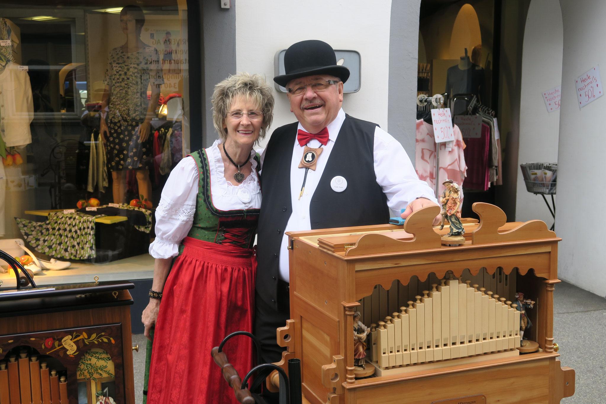 Gody und Helen Suter aus Solothurn