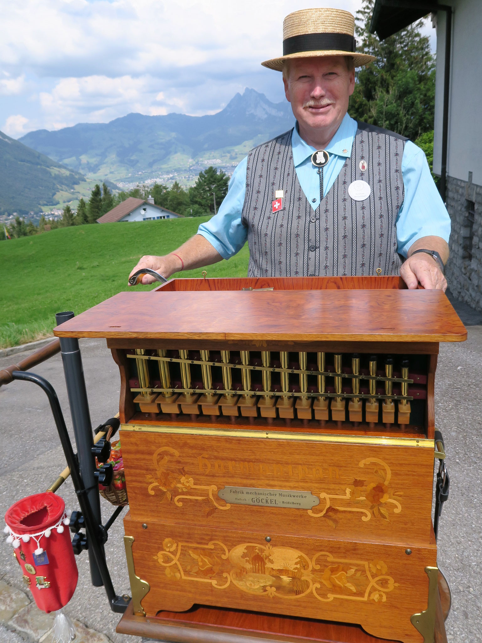 Der Aarburger Flösser-Sämi Bernhard Wullschleger