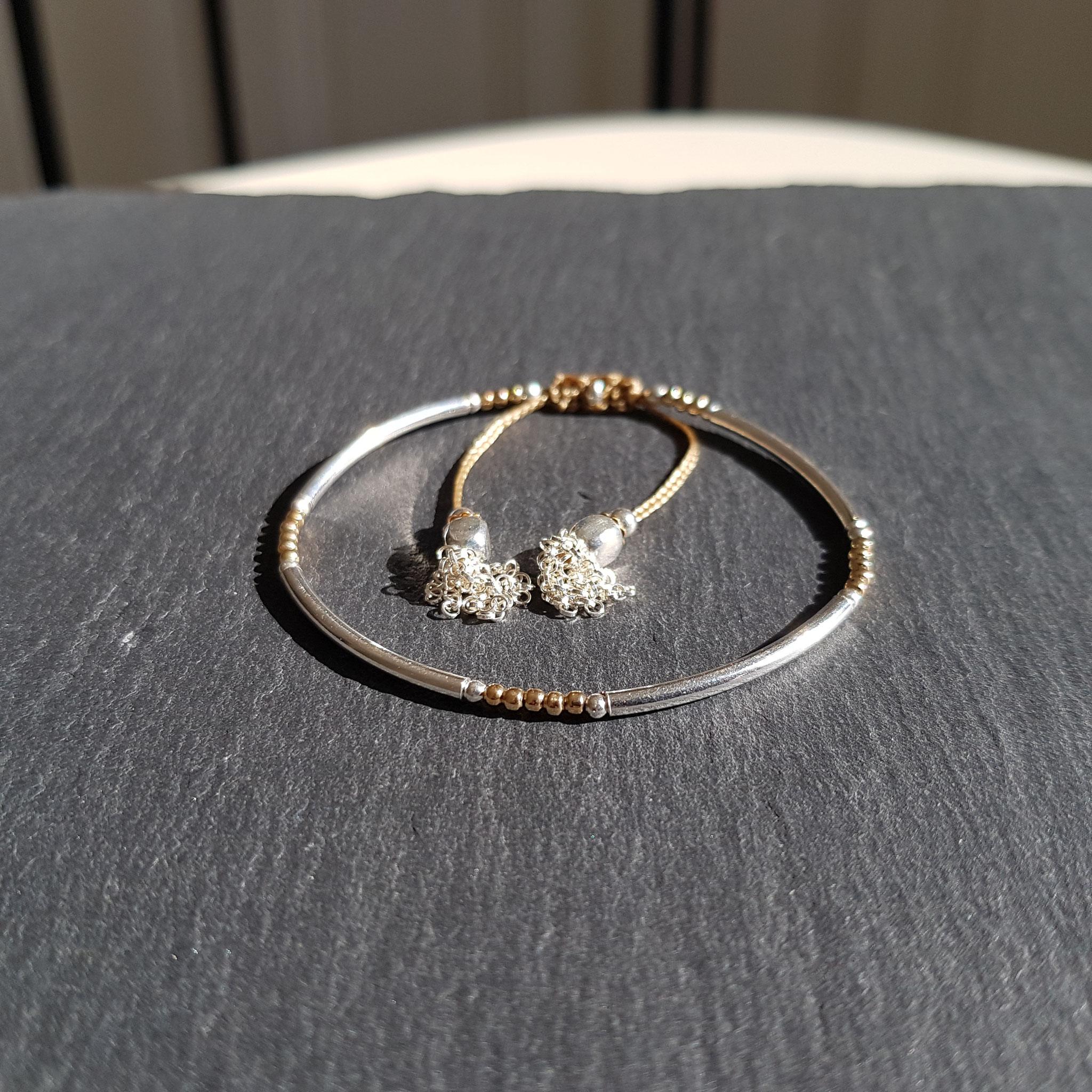 Bracelet Louxor argent