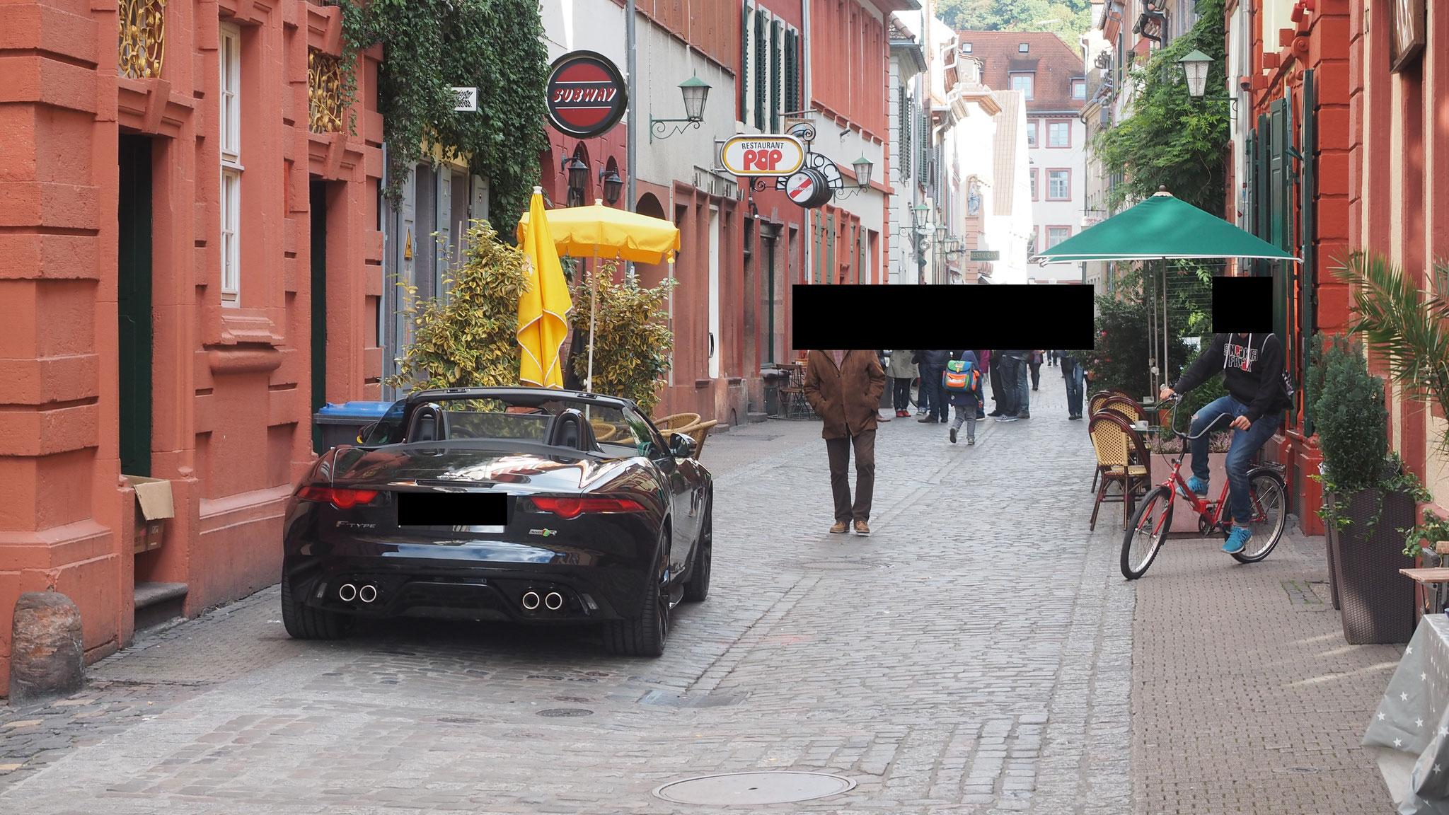 Parken in der Unteren Strasse