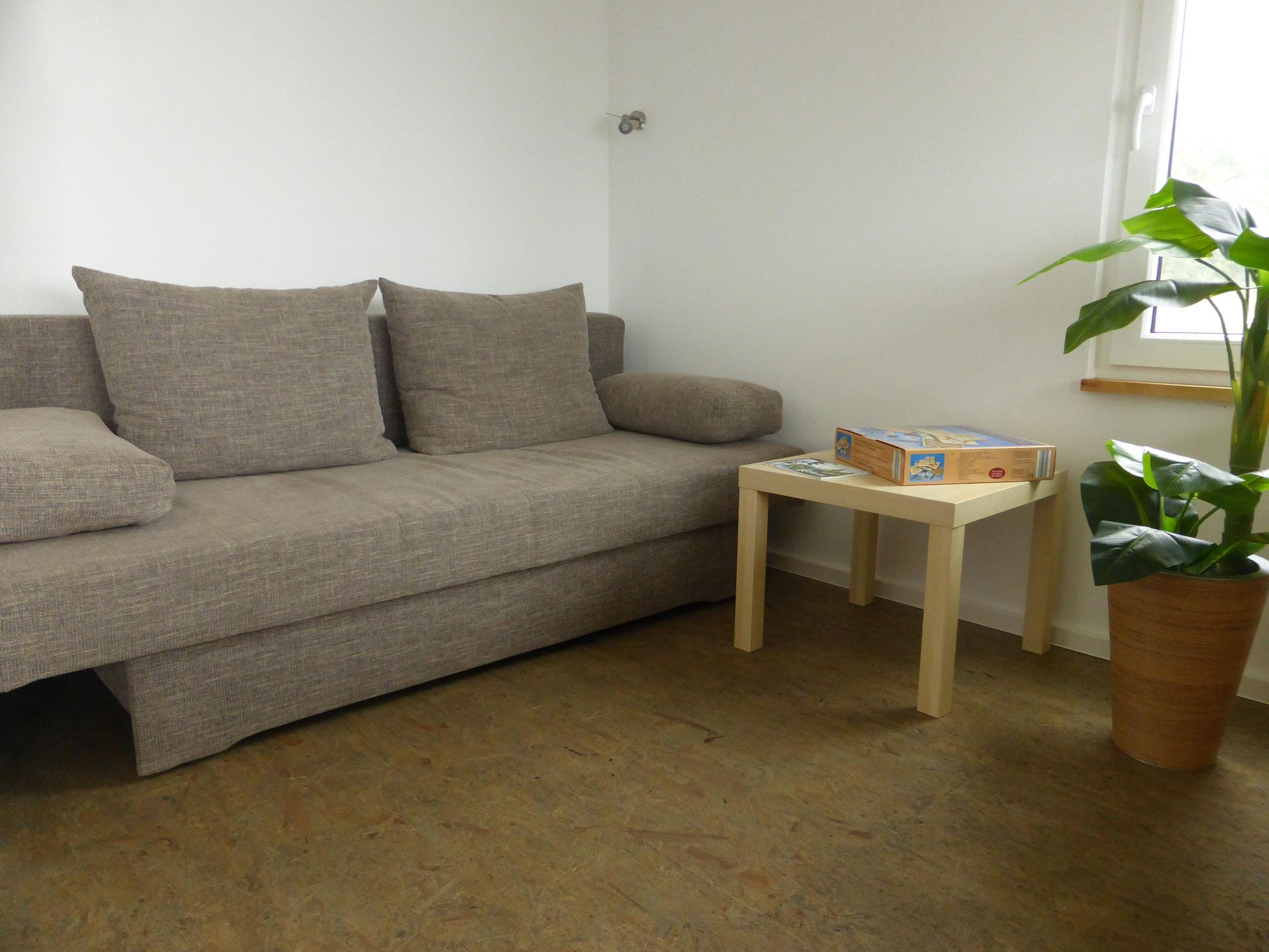 Couch, Klappcouch, Haus auf dem See