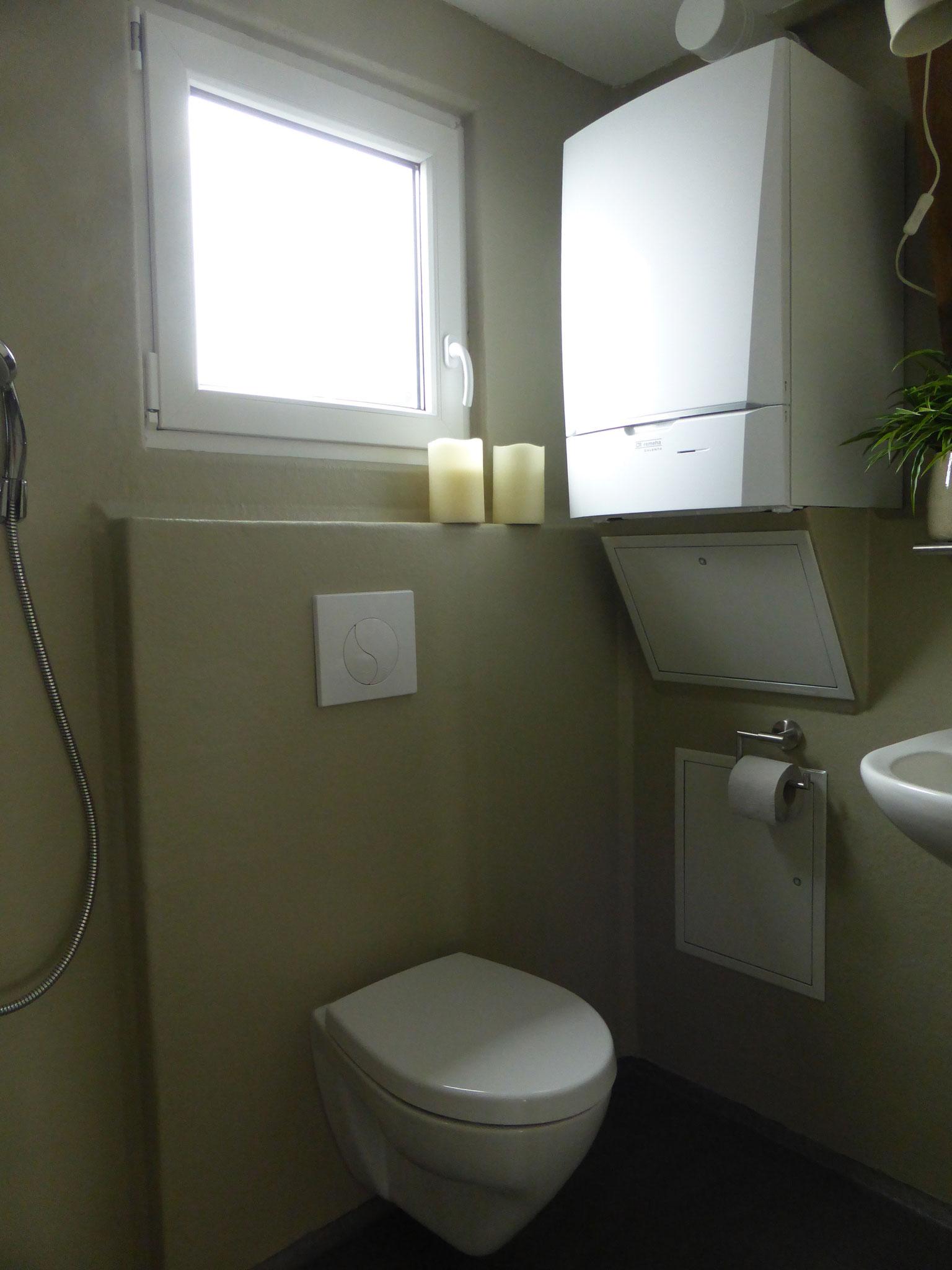 Badezimmer, Haus auf dem See
