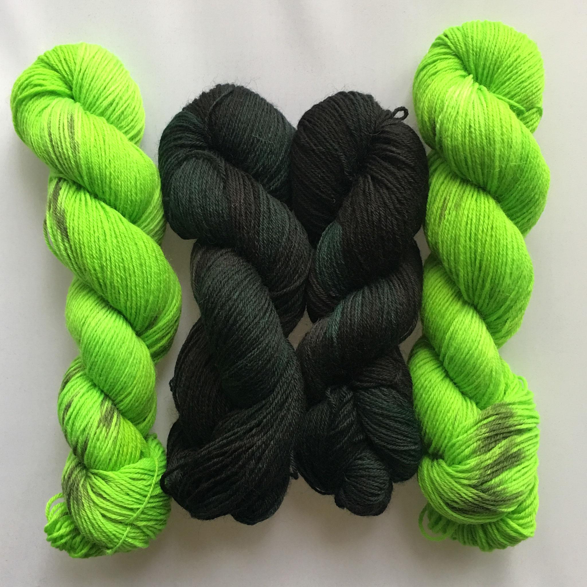 Edelzombie-Garnset | PoshZombie yarn set