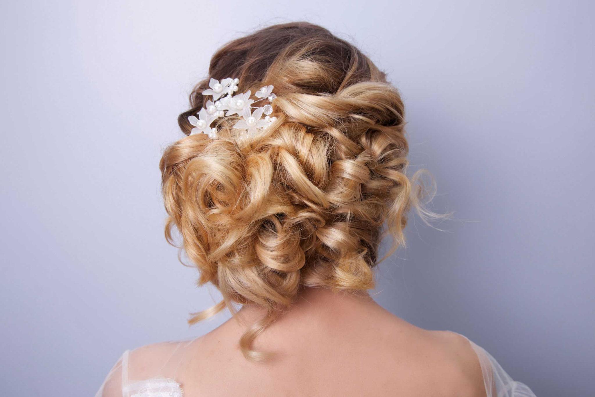 Hochsteckfrisuren, festliche Frisuren, Hochzeitsfrisuren