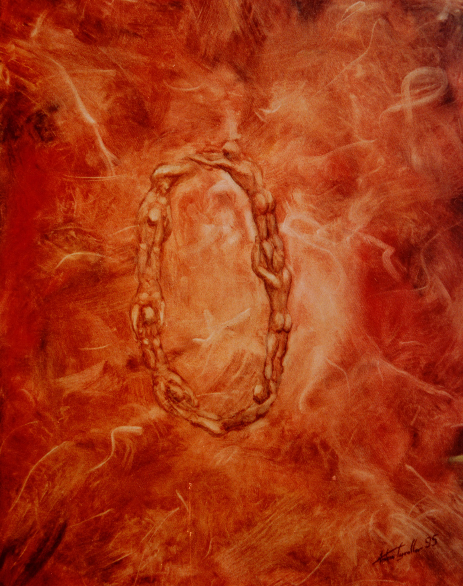 Ring II, 70x55 cm