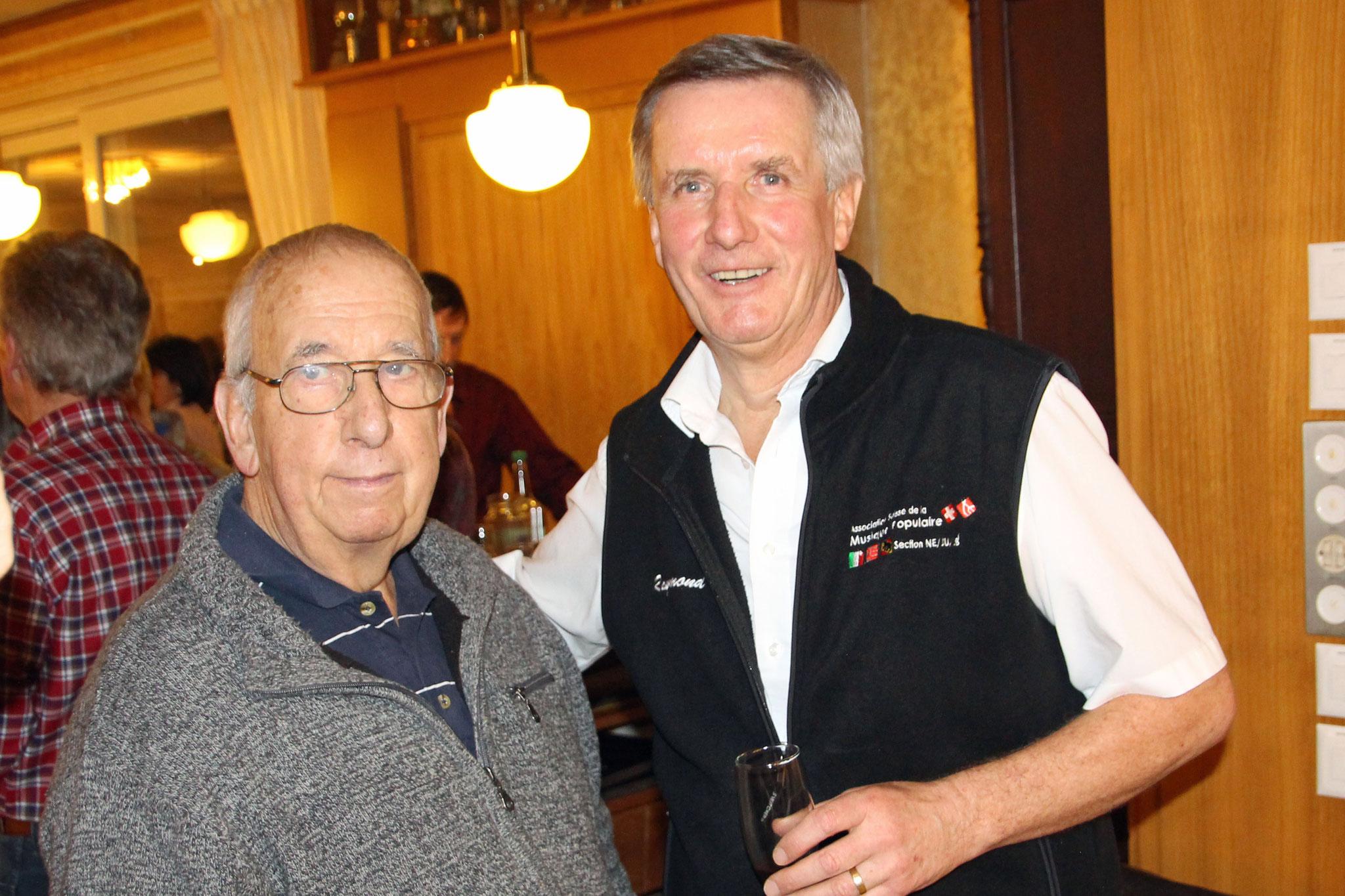 2017.01.14 Dino président d'honneur et Raymond président en fonction (photo: O.O.)