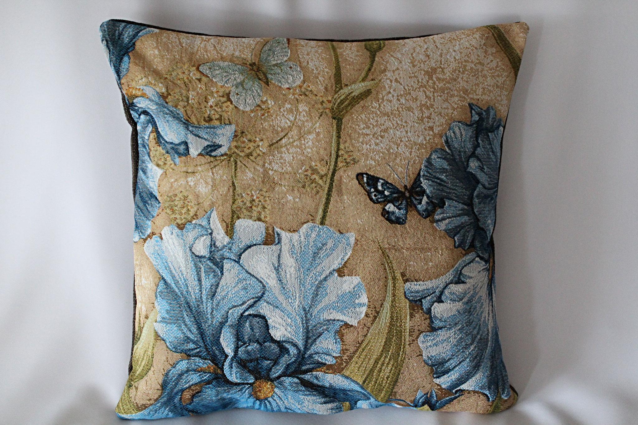 """""""Blaue Iris mit Schmetterlinge"""""""