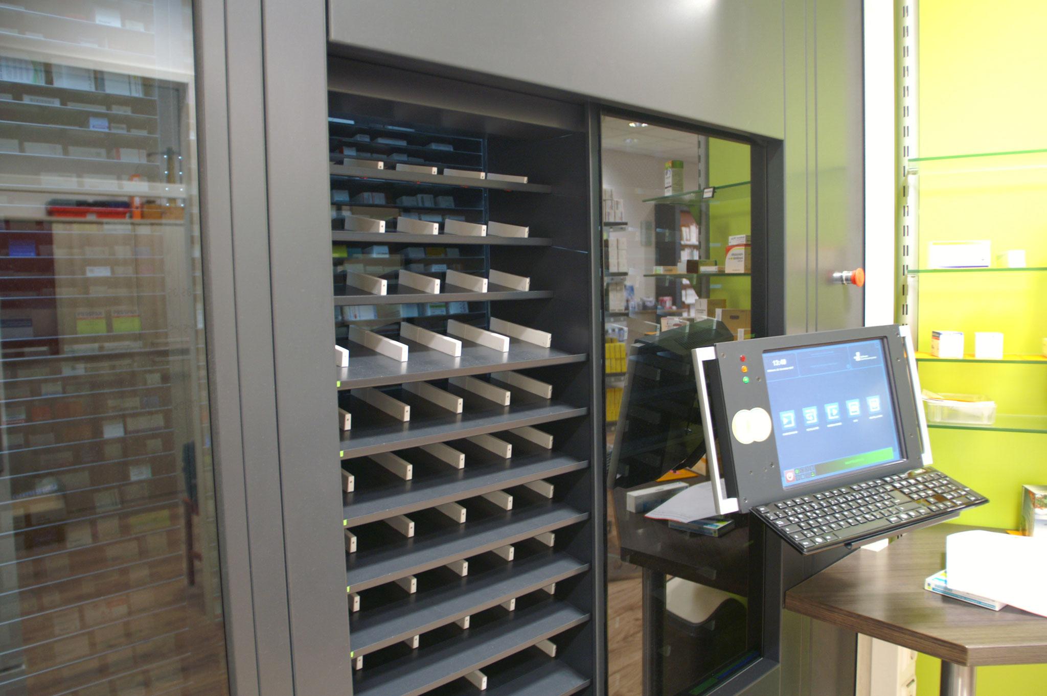 Gollmann-Kommissionierautomat