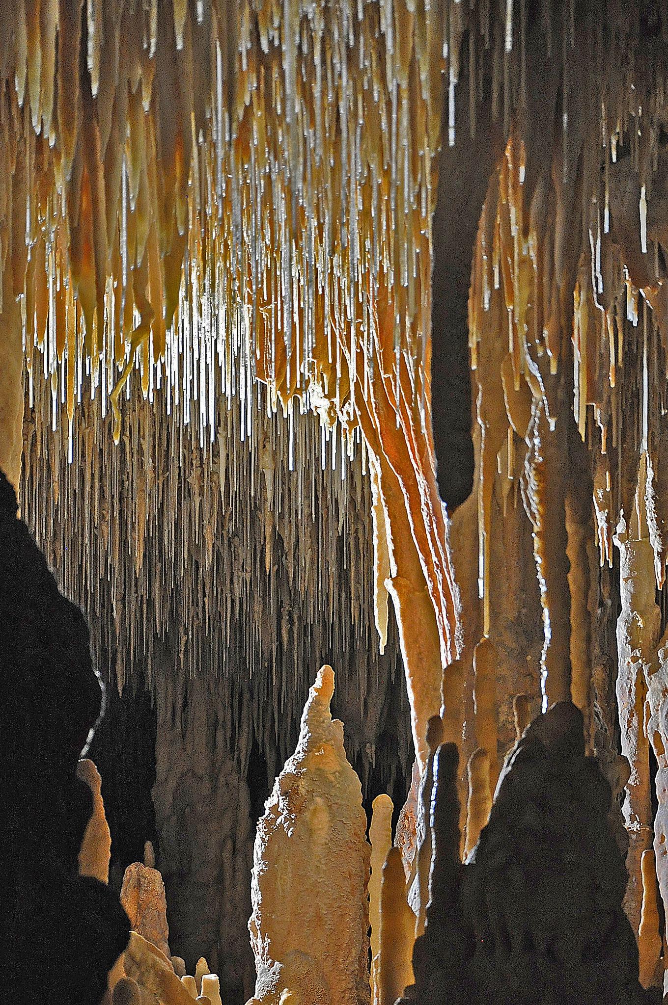 Concrétions - Grottes de Cougnac - Pays de Gourdon