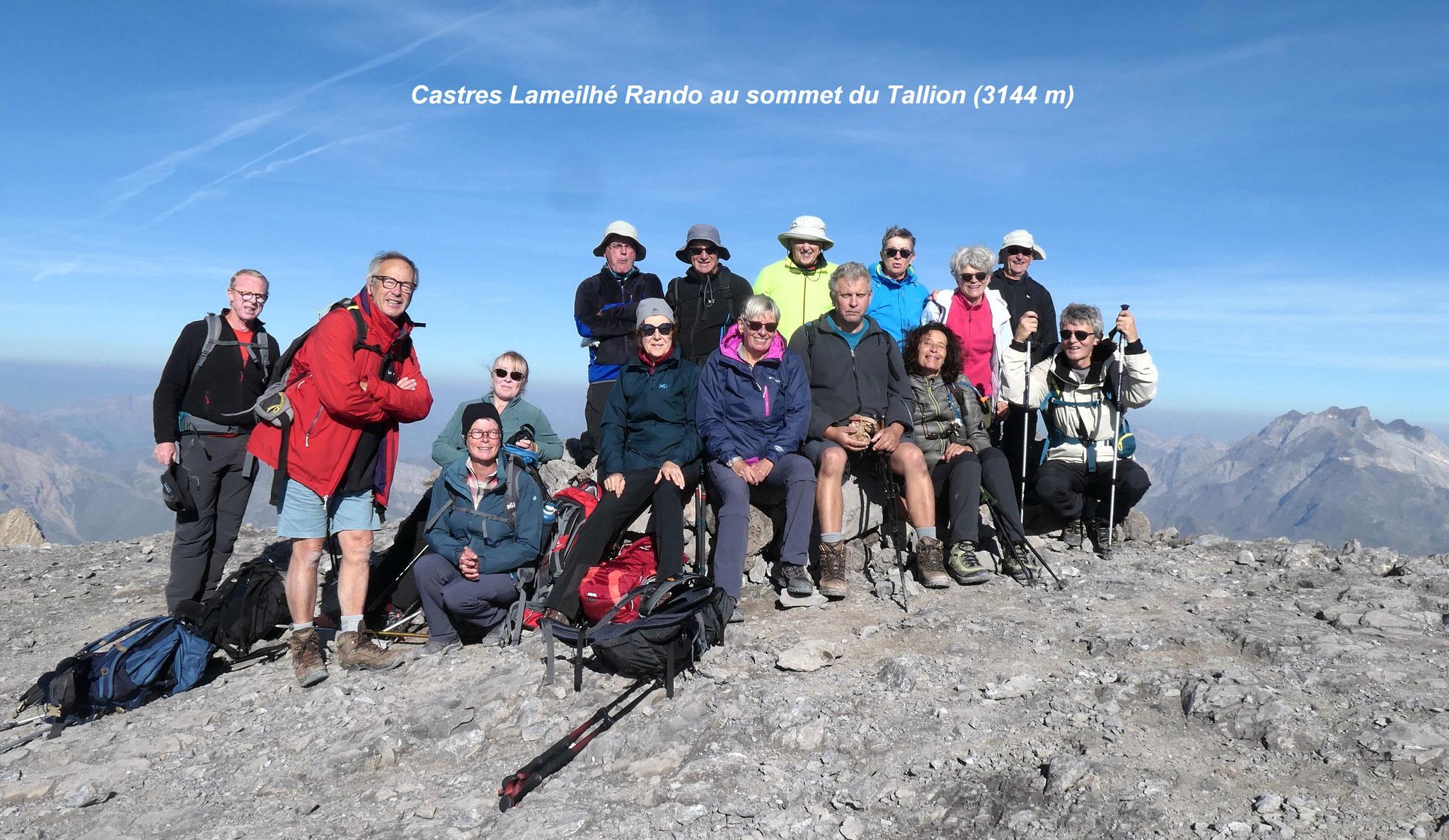 Premier séjour en montagne pour Castres Lameilhé Rando - Crédit photo Castres Lameilhé Rando