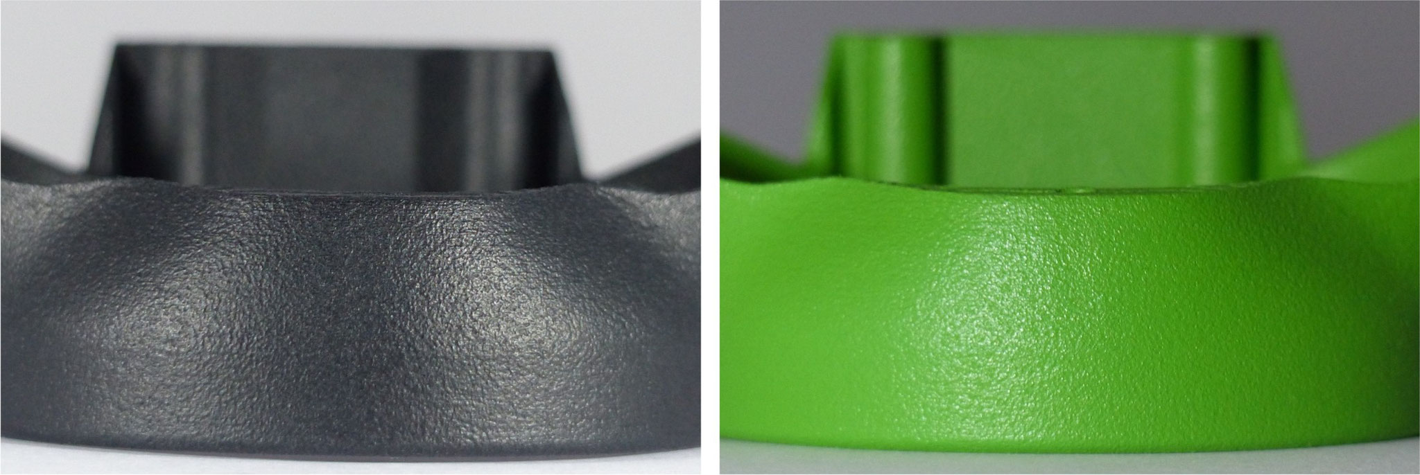 MFD - Finishmethoden ermöglichen Serienfertigung per SLS-Verfahren / 3D-Druck - Oberflächen ähnlich VDI3400