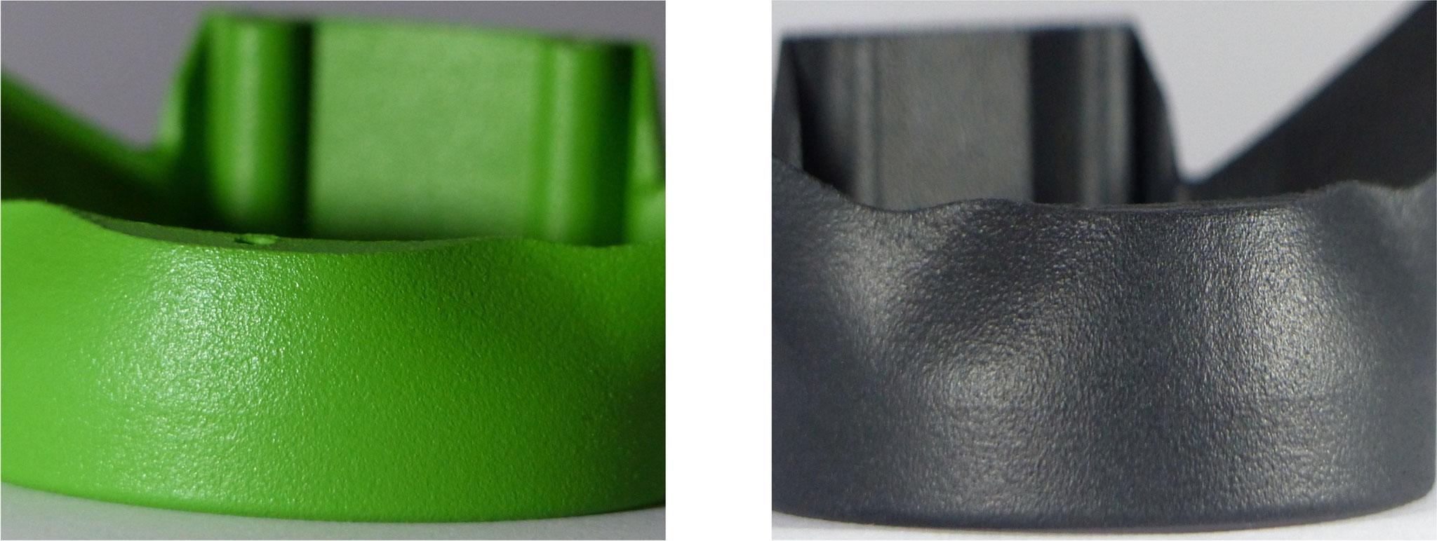 Endprodukt mit Sichtoberfläche hergestellt per SLS - Lasersintern