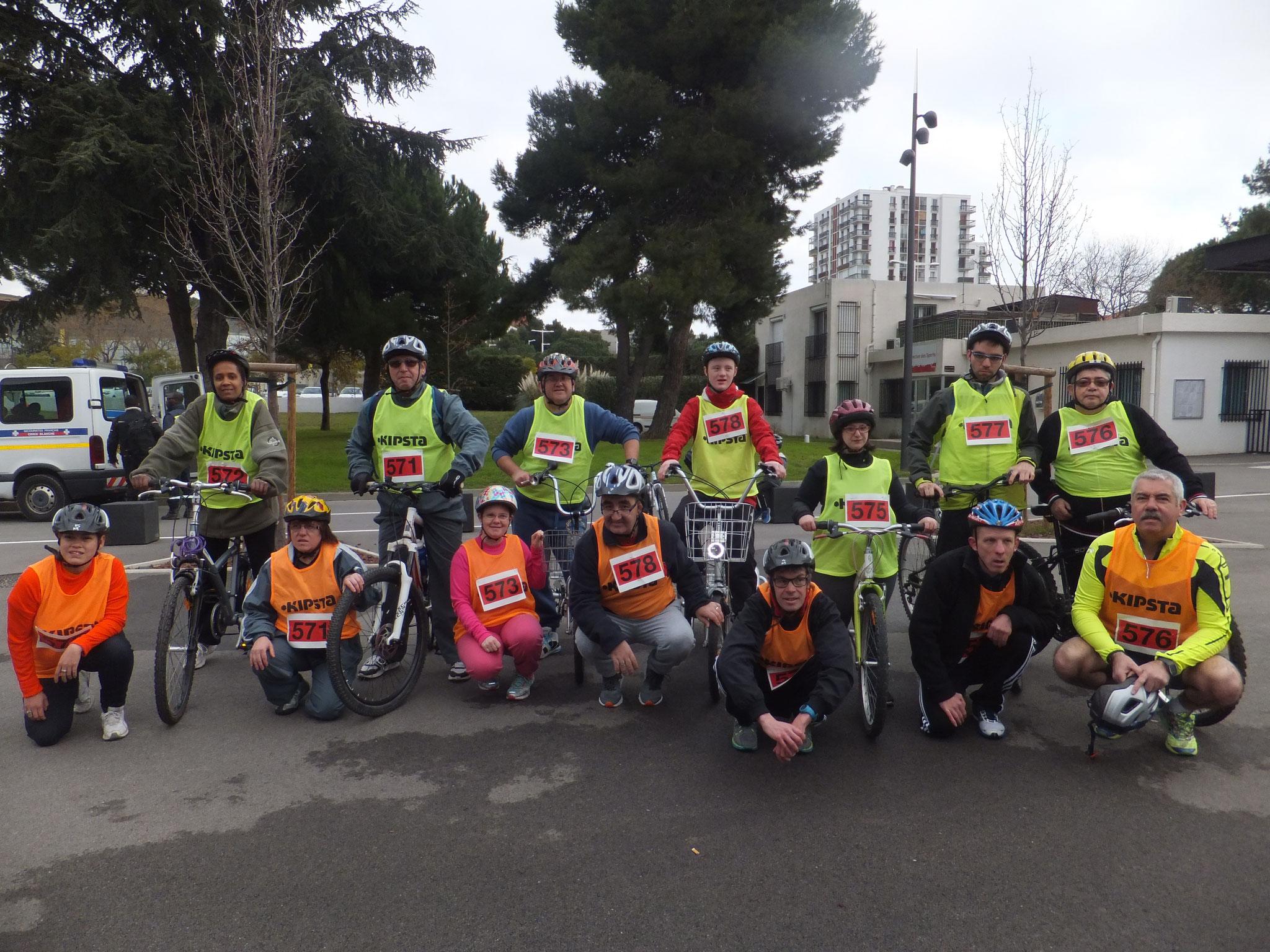 Run Bike à Perpignan le 24 janvier 2016