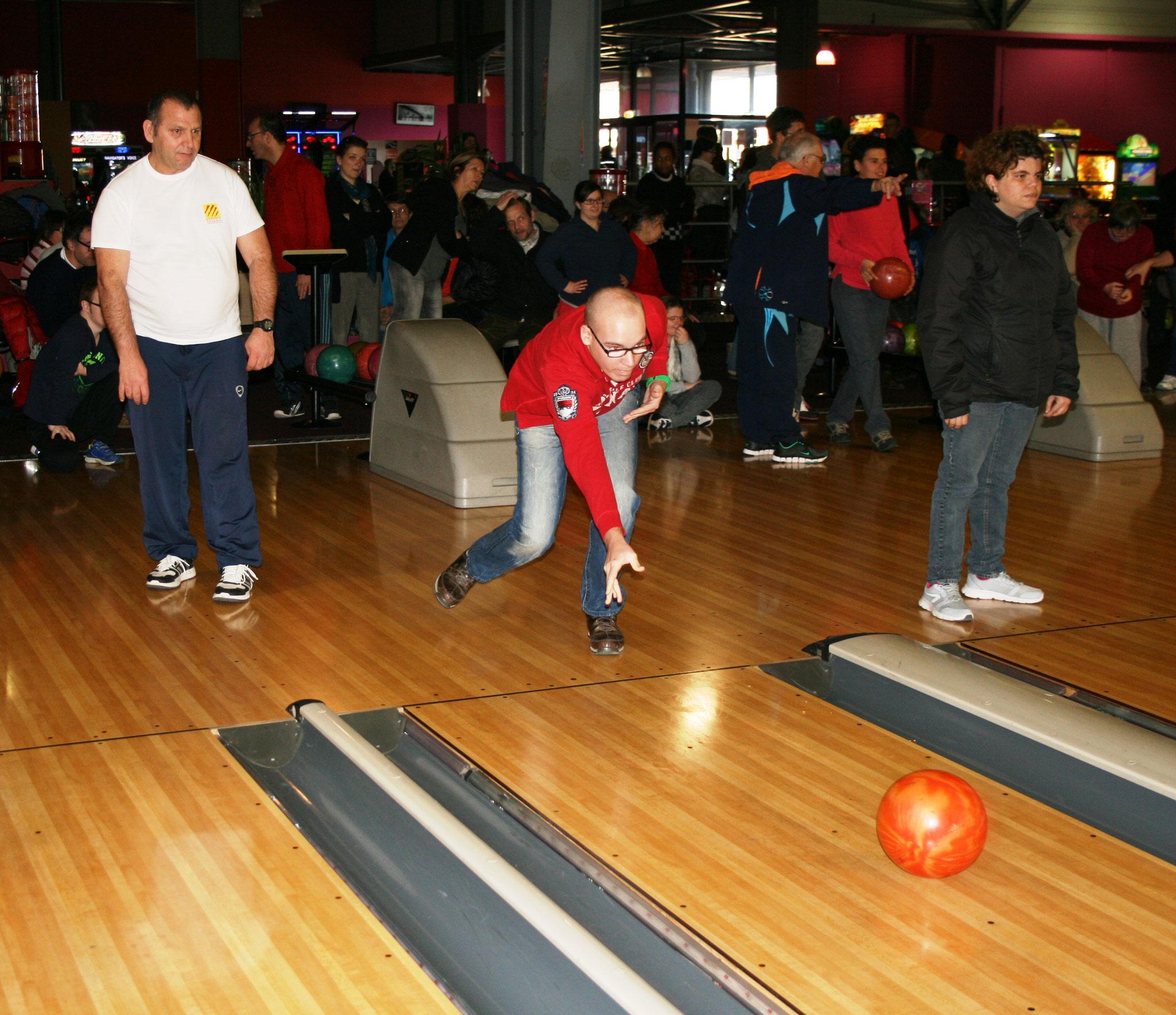 Sortie bowling.