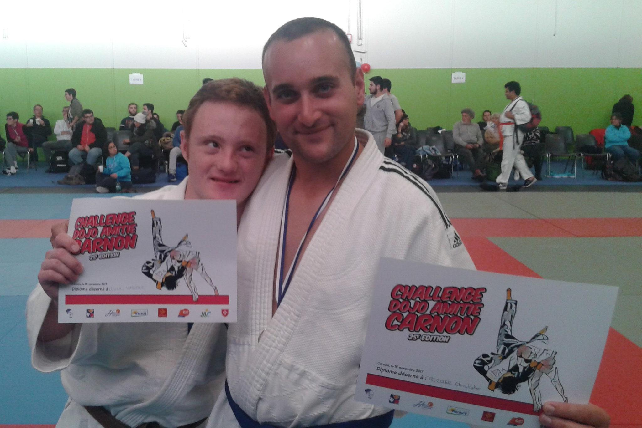 Championnat Interrégional Judo Occitanie,Lucas et Christopher