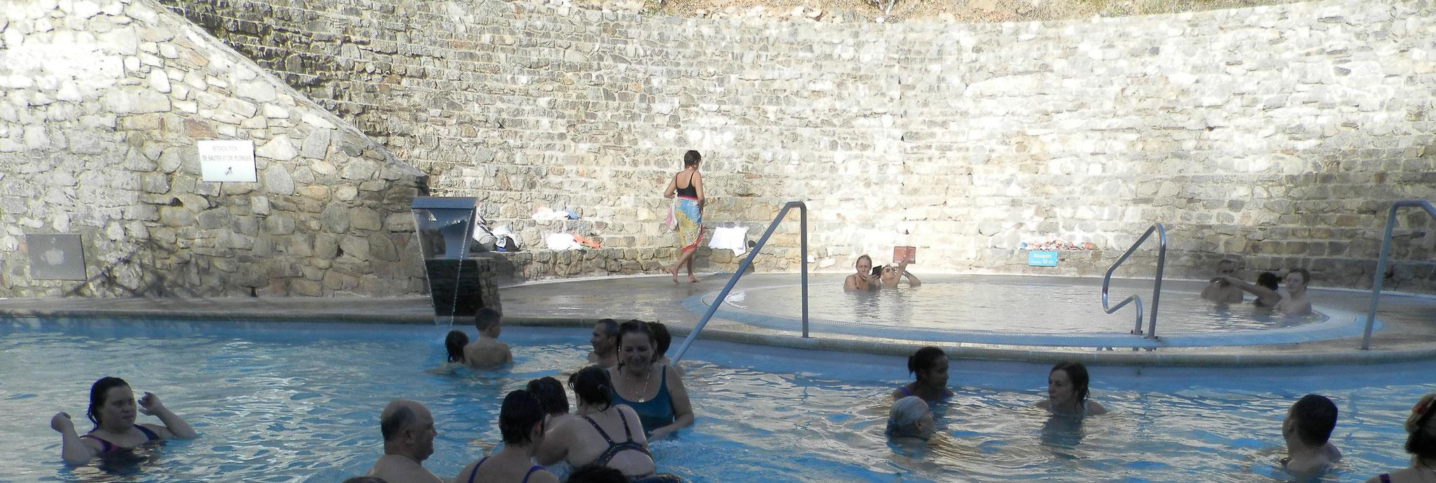 Journée aux bains de St Thomas, octobre 2017