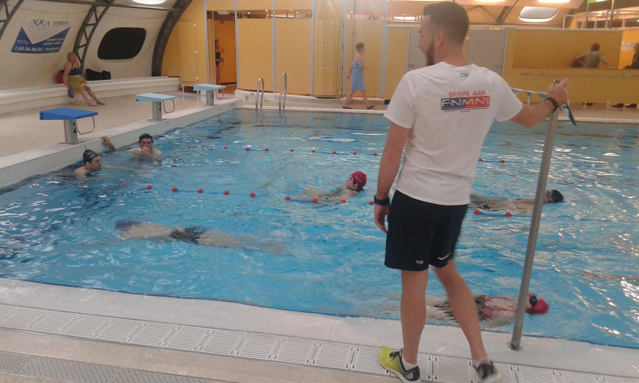 Entrainement natation