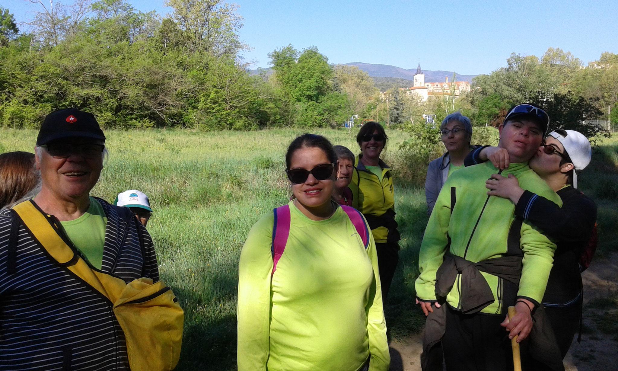 randonnée pédestre à Prades