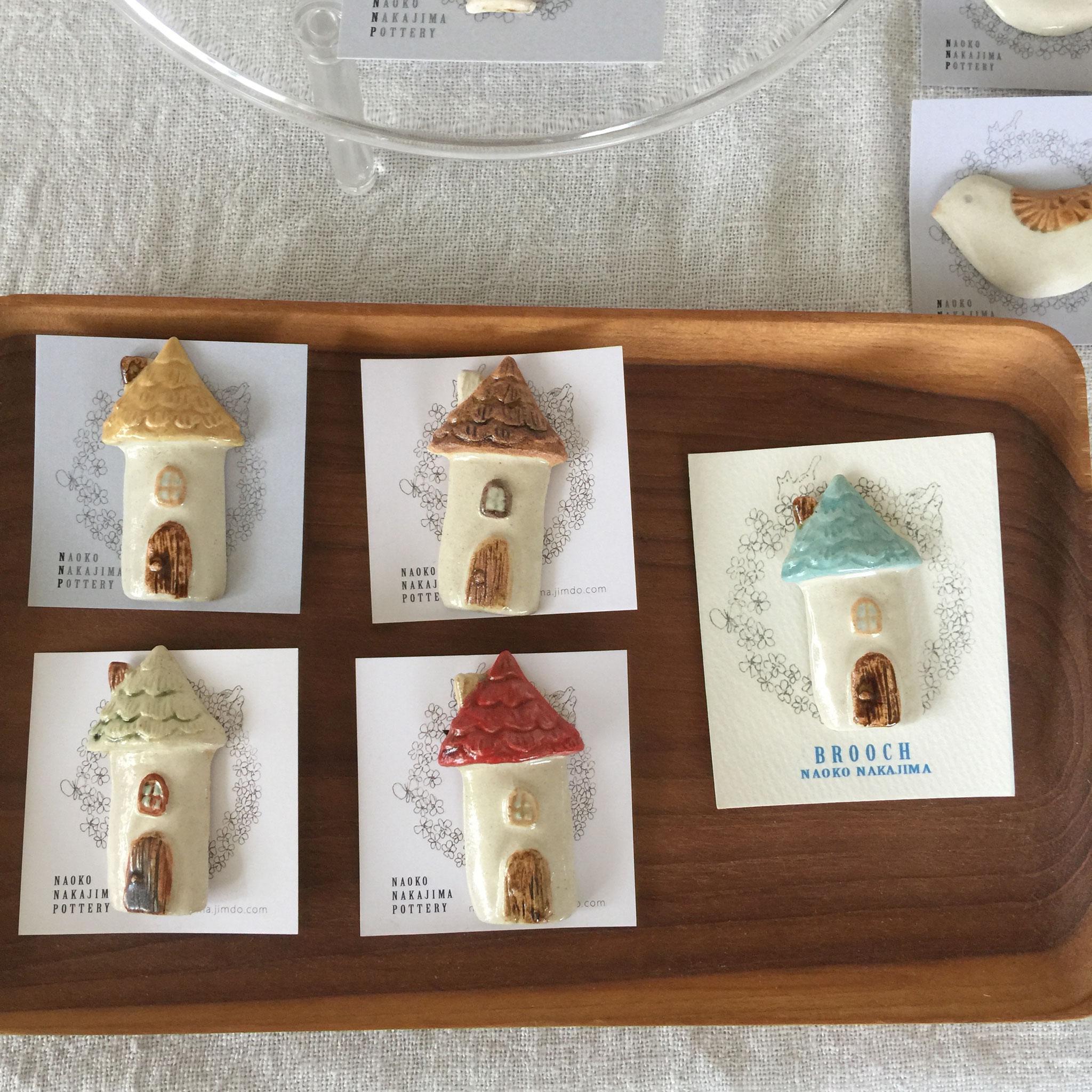 minneで人気の北欧のお家ブローチは、ぼぼ全色揃っています。