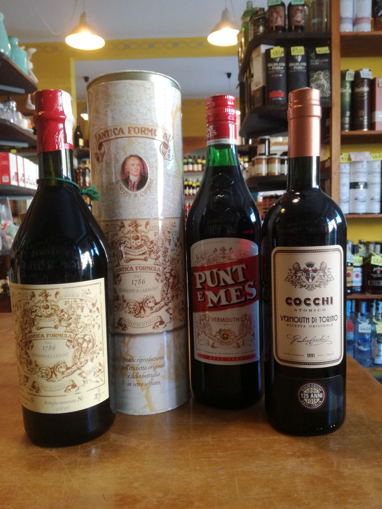 Carpano Antica Ricetta, Punt e Mes, Vermouth Cocchi: il Vermouth prima della Milano da bere