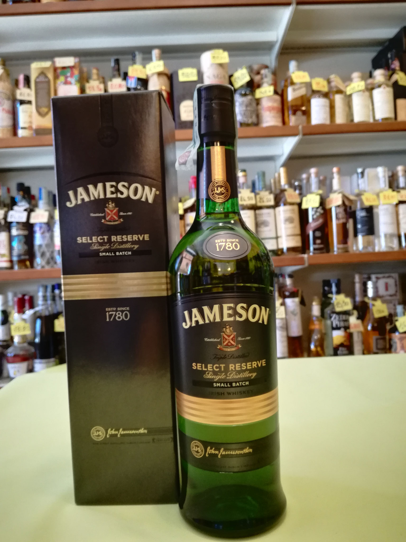Jameson Selected Reserve - Small Batch 40% 70cl triple distilled