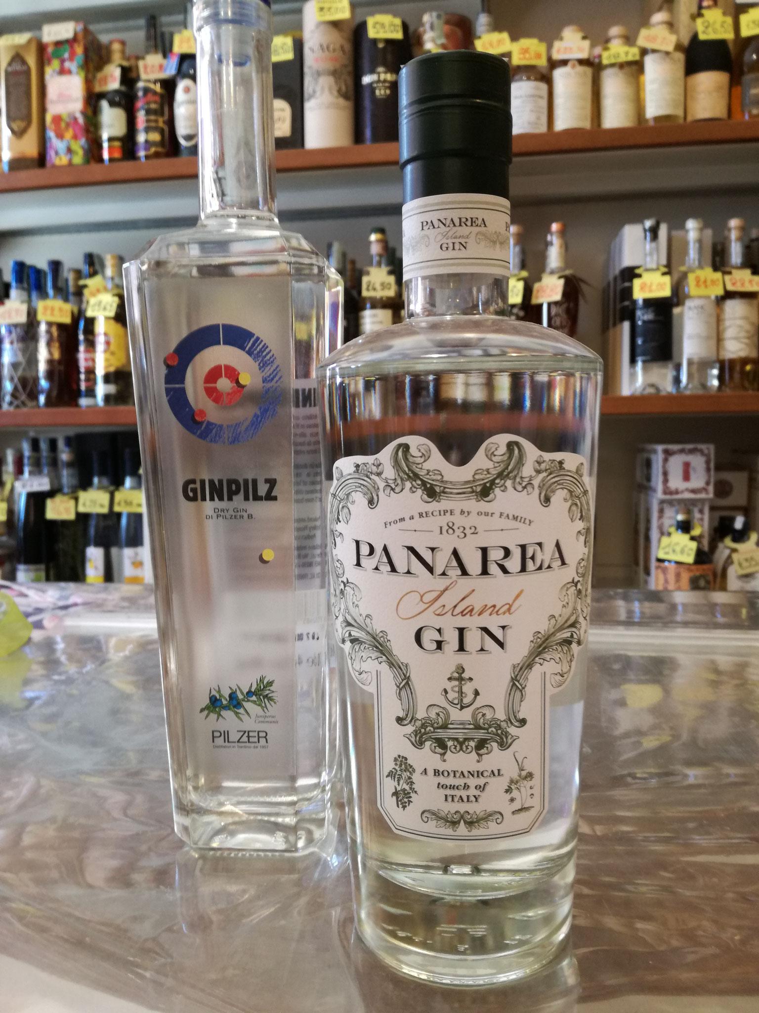 GinPilz e Panarea Island Gin