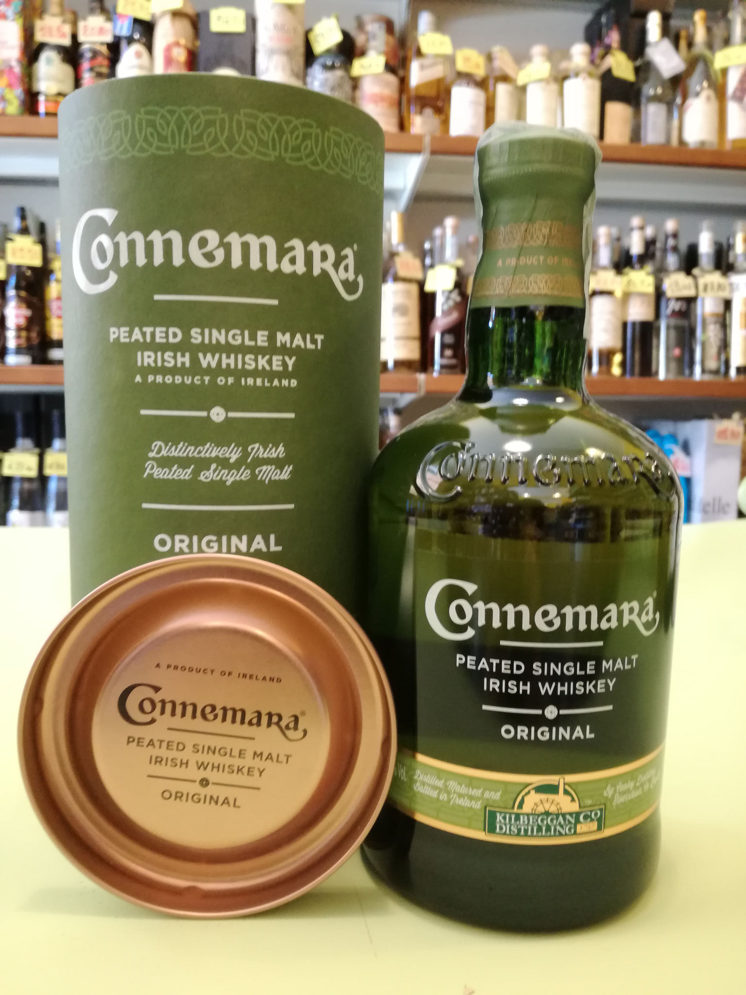 Connemara  Peated Single Malt  Whiskey 40% 70cl - mix heavily peated malt (Scottish) with unpeated malt (Irish), aged in bourbon cask
