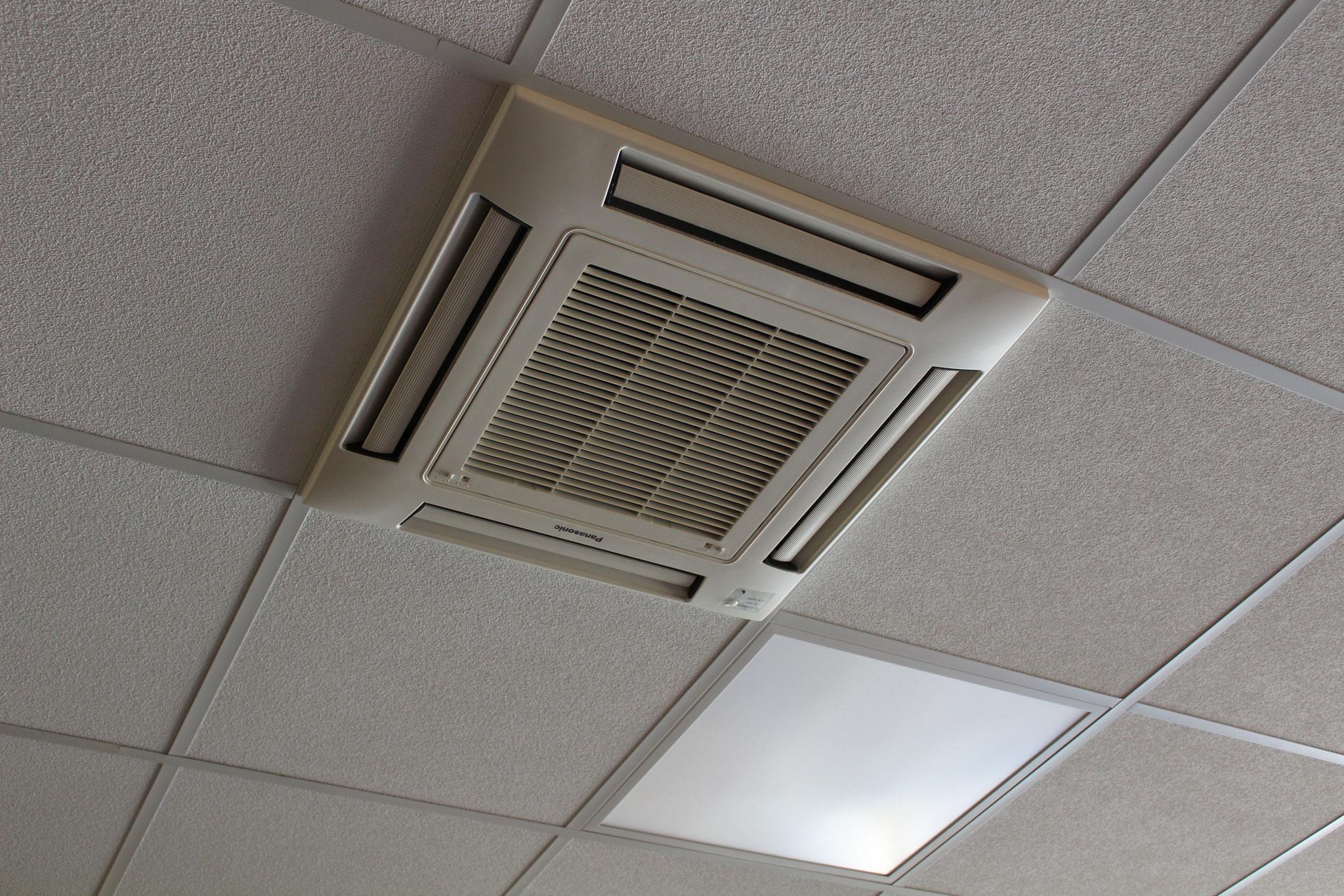 Klimainnengerät Büroräume
