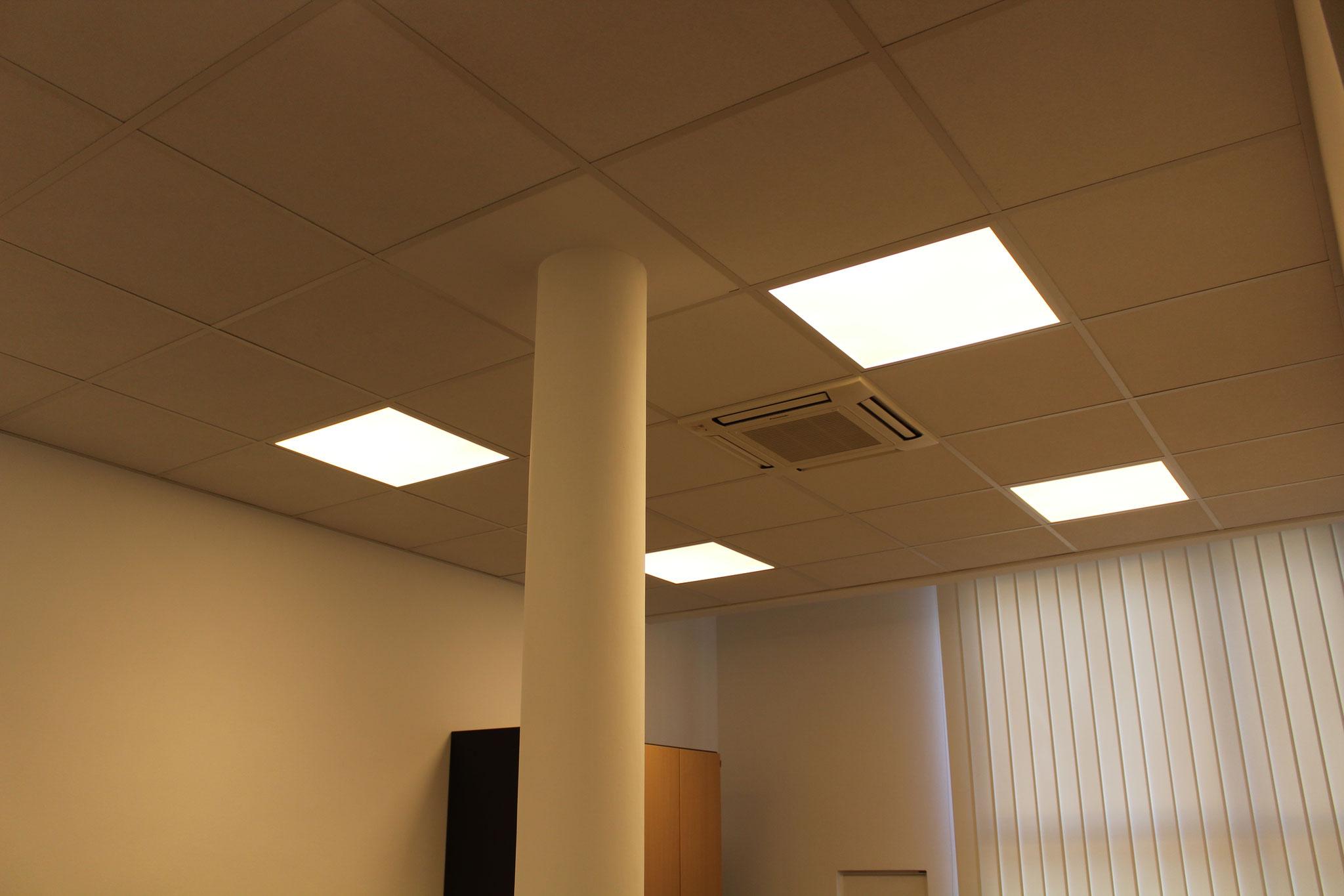 Lichtplanung Büroräume