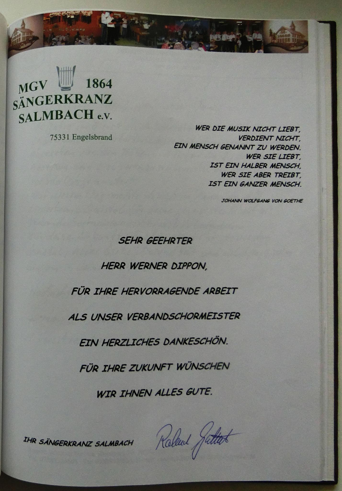 Sängerkranz Salmbach