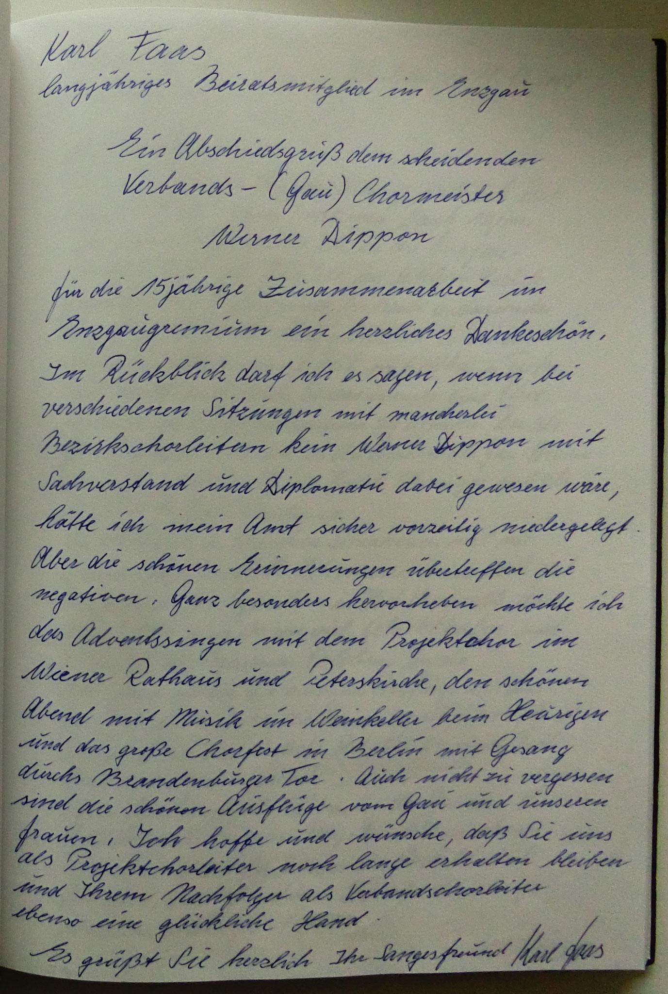 Karl Faß - Iptingen