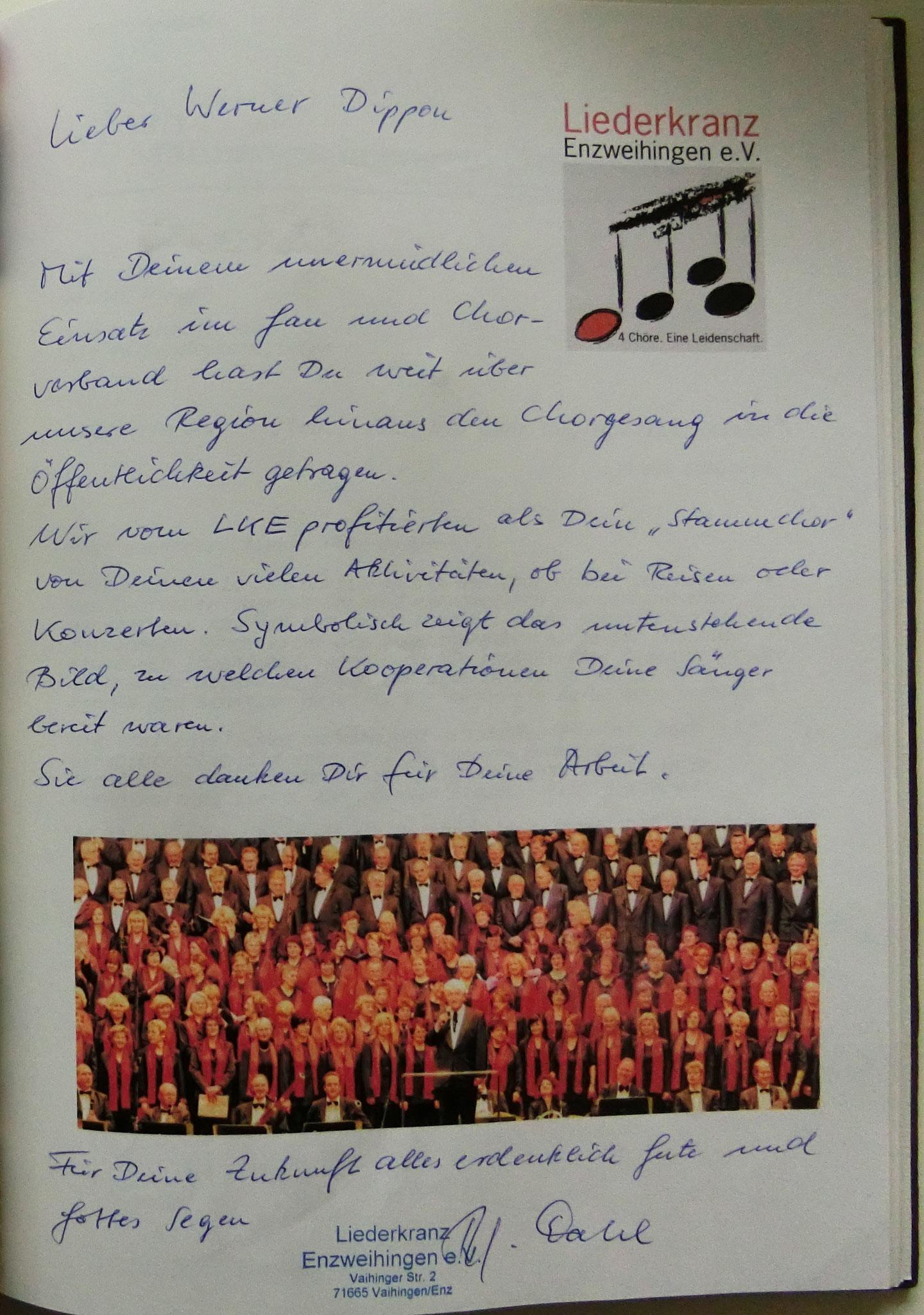 Liederkranz  Enzweihingen