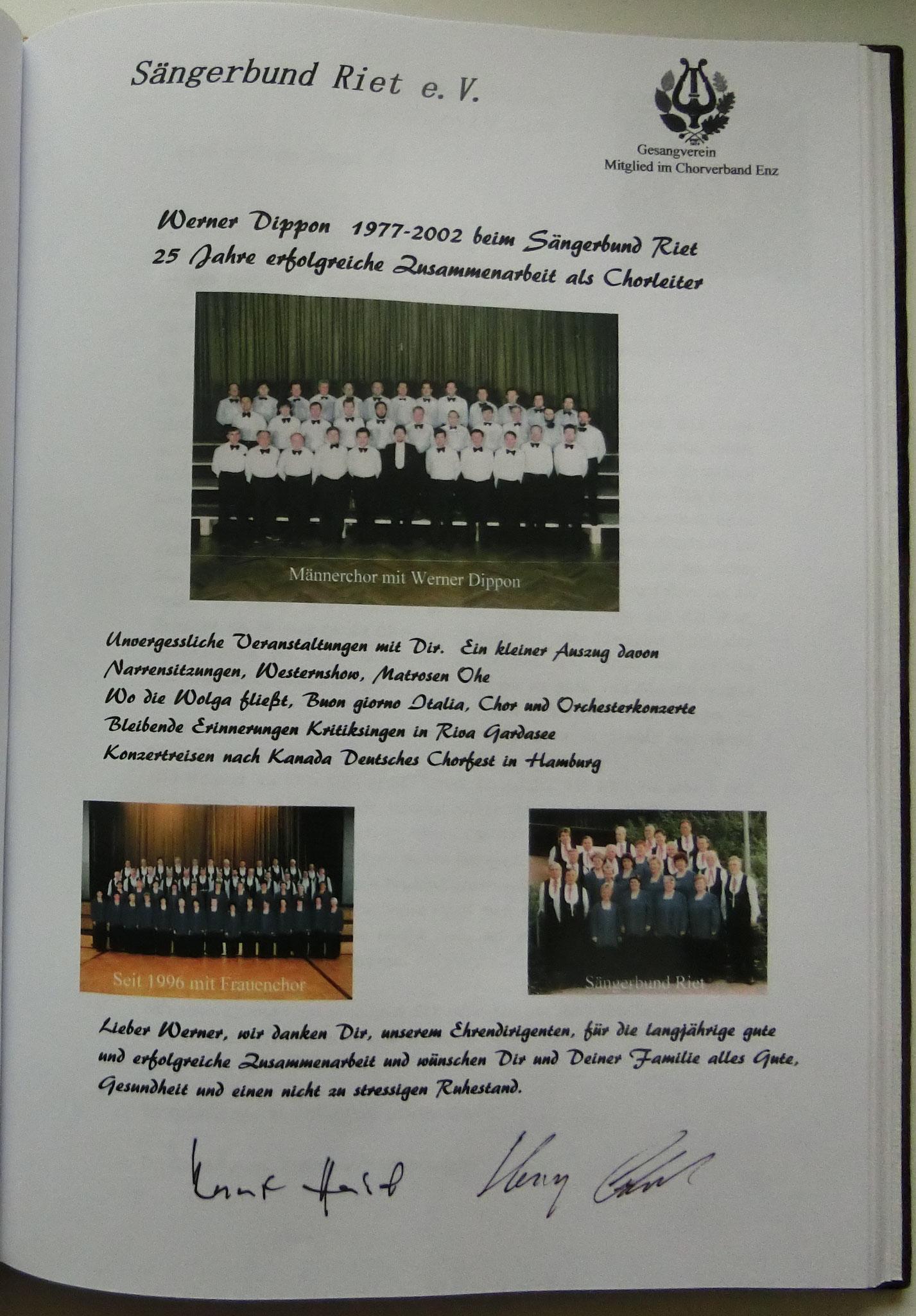Sängerbund  Riet