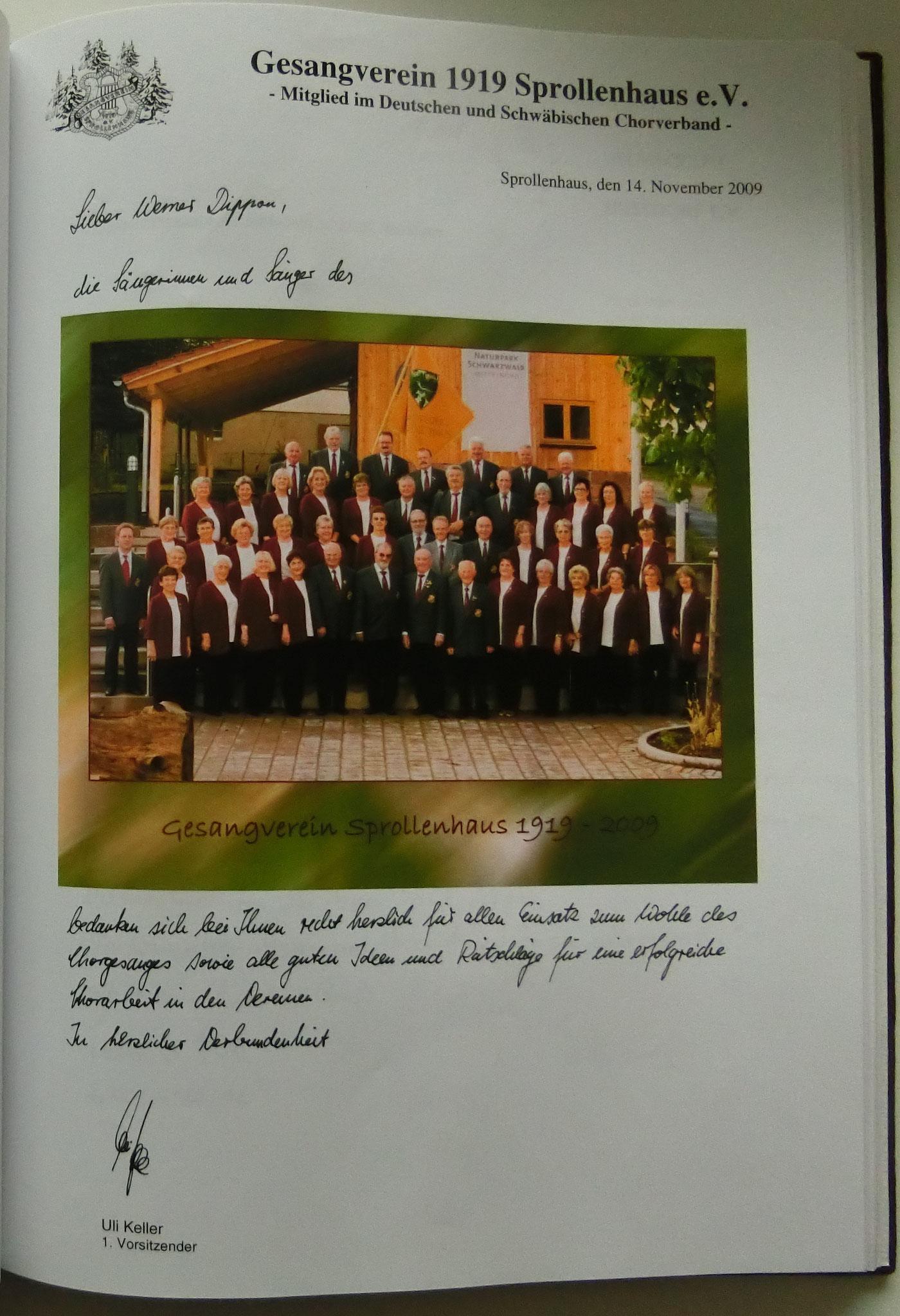 Gesangverein Sprollenhaus