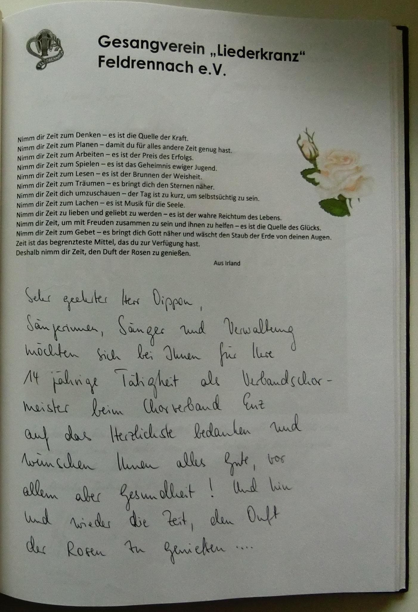Liederkranz Feldrennach
