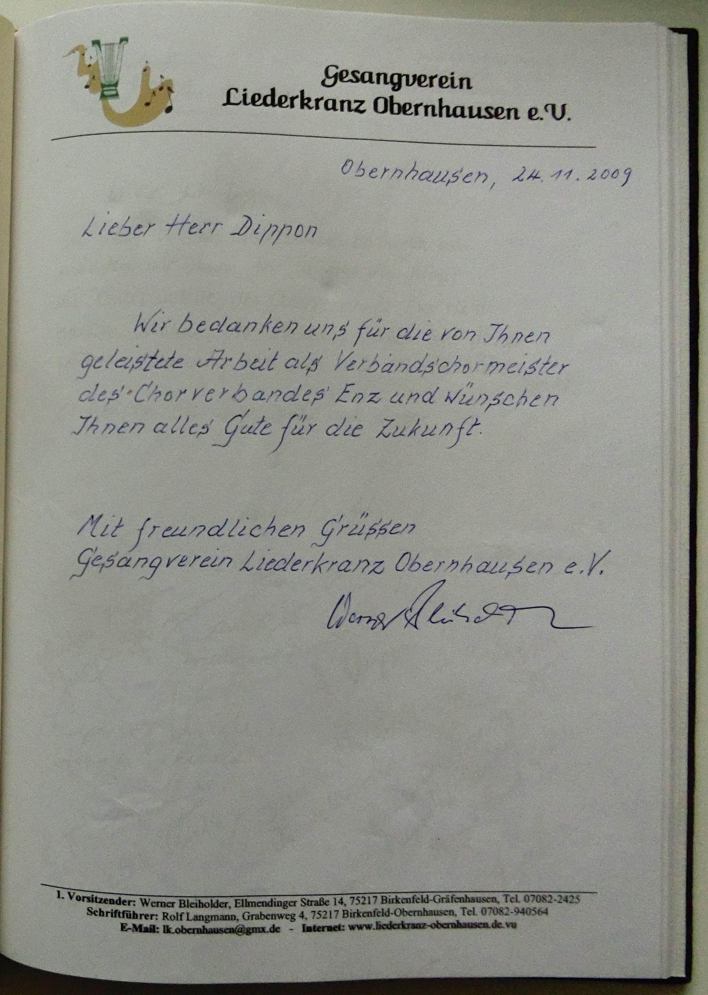Liederkranz Obernhausen