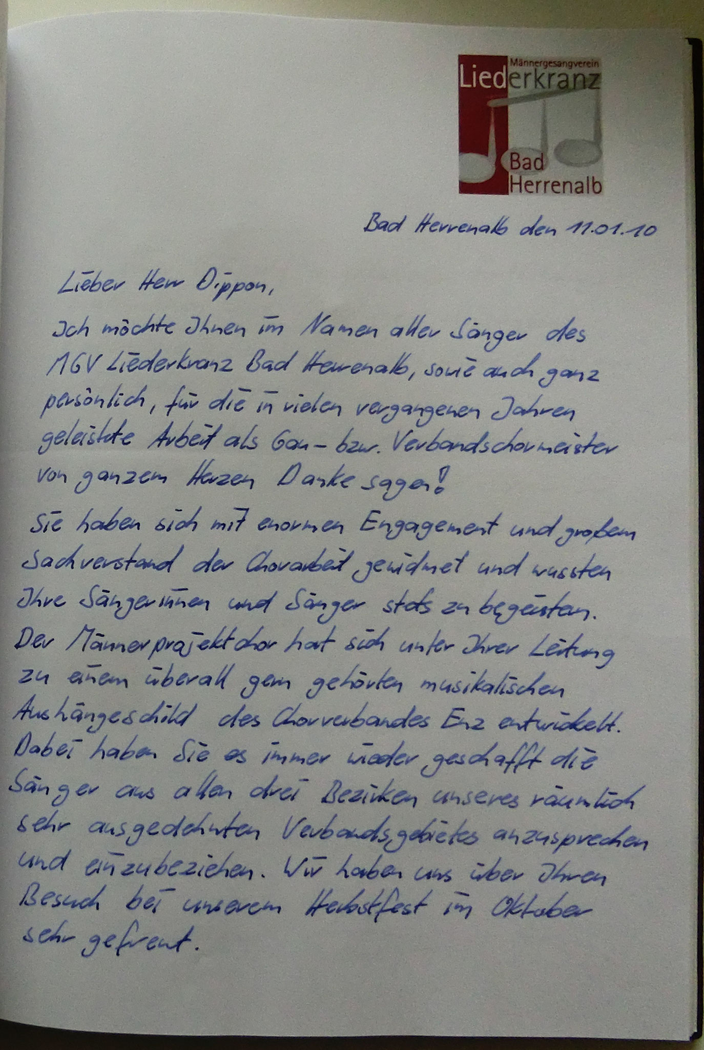 Liederkranz Bad Herrenalb