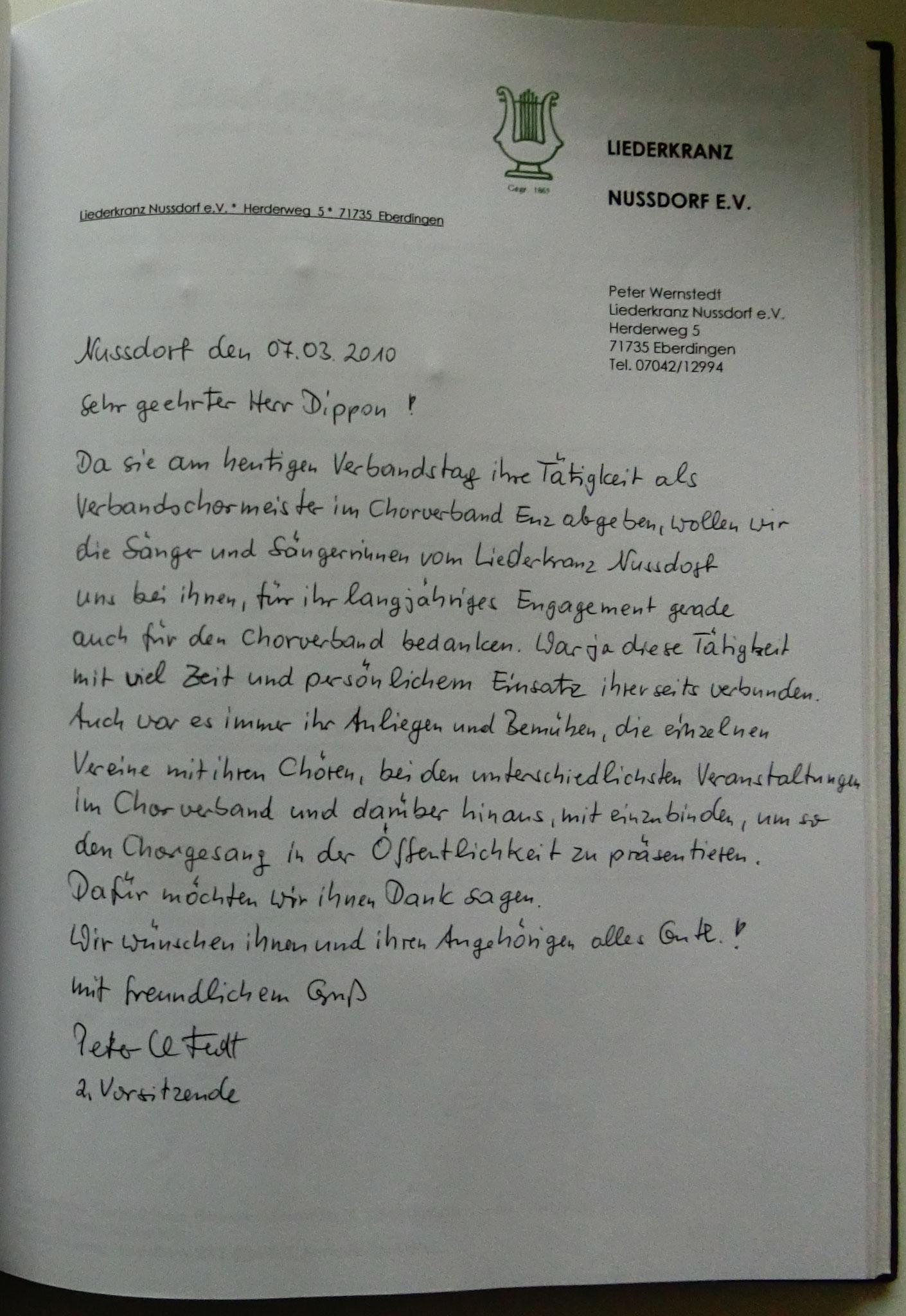 Liederkranz Nußdorf