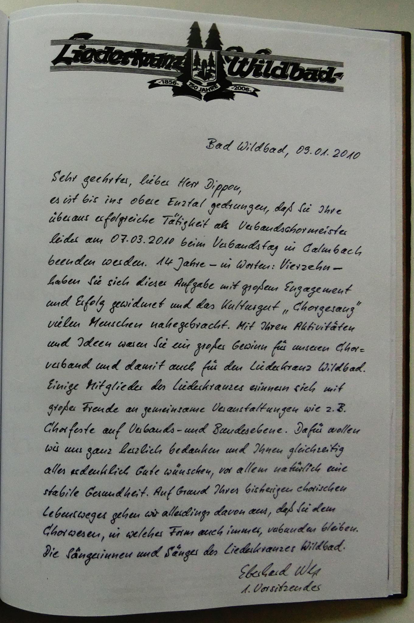 Liederkranz Bad Wildbad