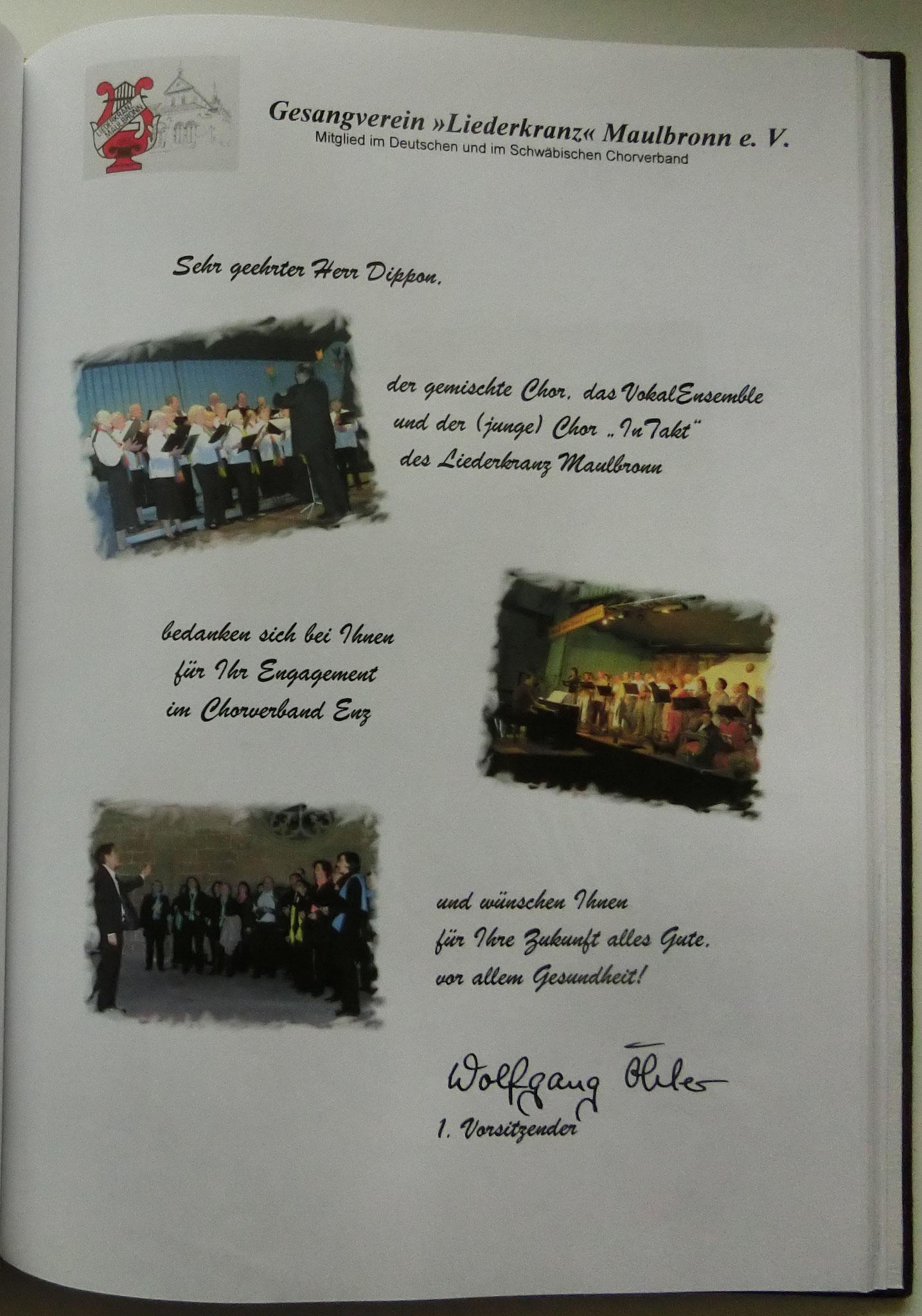 Liederkranz Maulbronn
