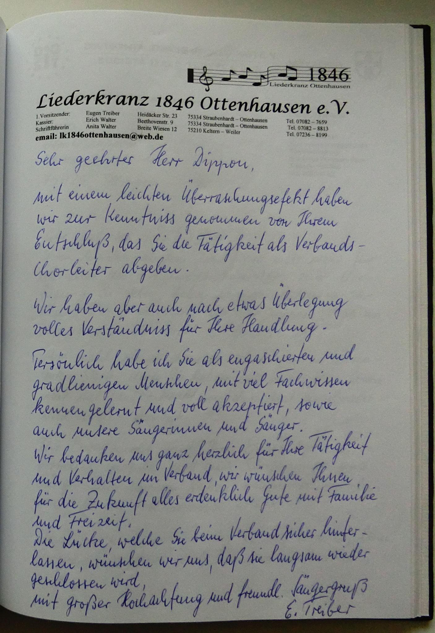 Liederkranz Ottenhausen