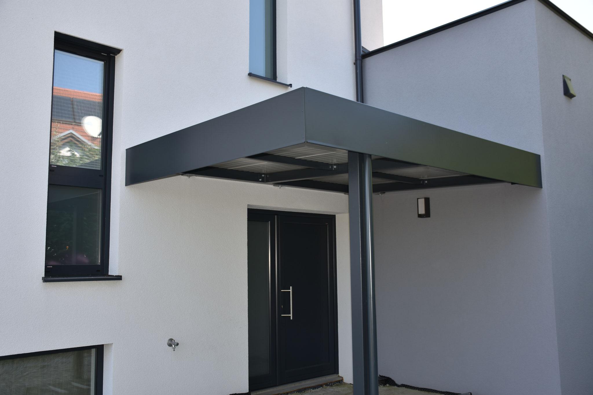 Faszinierend Eingangsüberdachung L Form Beste Wahl Regen- Oder Schneeabhilfe Schaffen Mit Der Eingangsüberdachung!