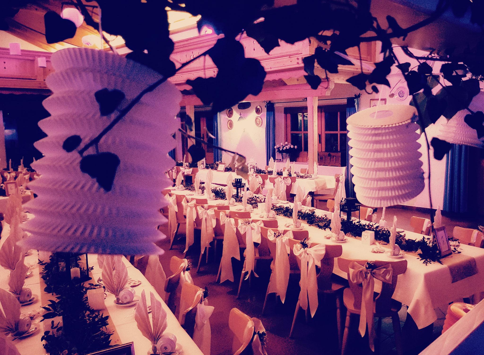 Hochzeitsräumlichkeit im Münchner Süden