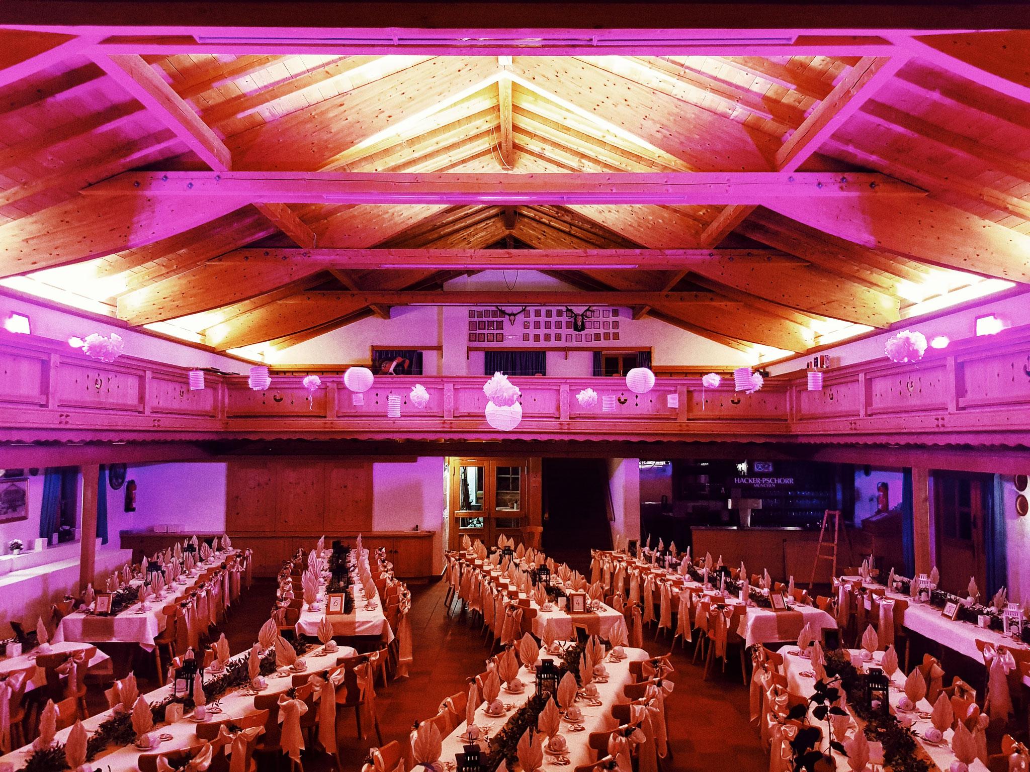 Hochzeitssaal in Bayern