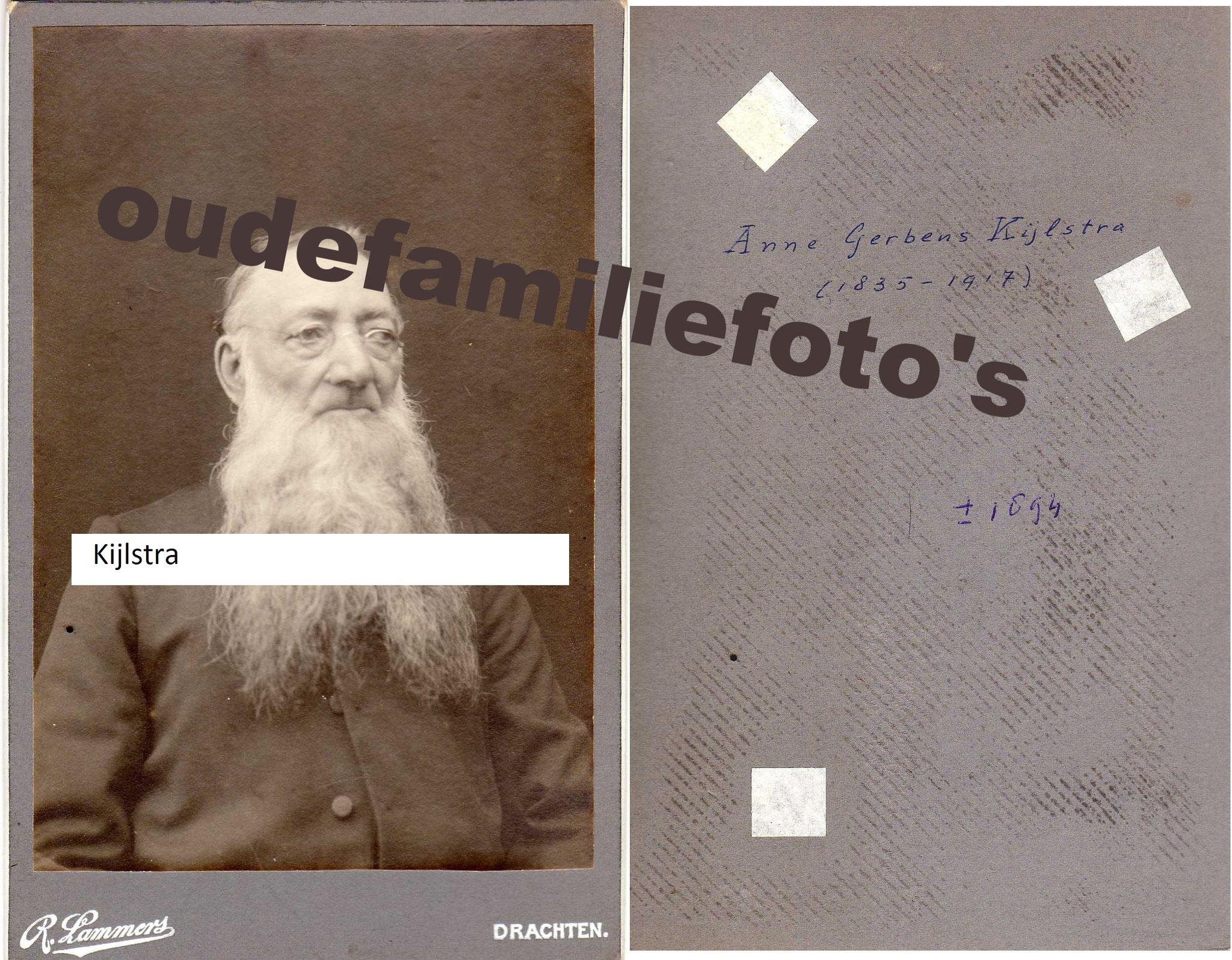 Kijlstra, Anne Gerbens. geboren 27-3-1834 Drachten € 4,00