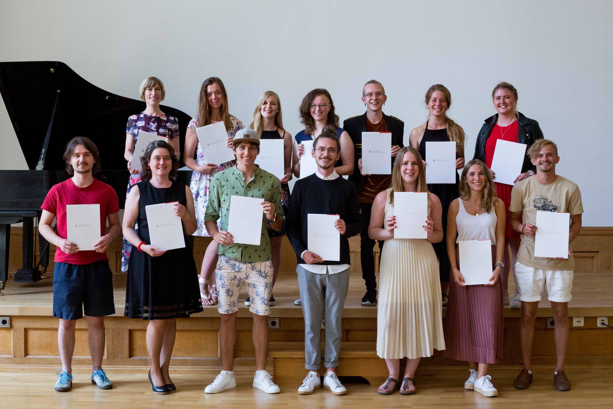 Abschlussklasse der Fotografenmeister 2020