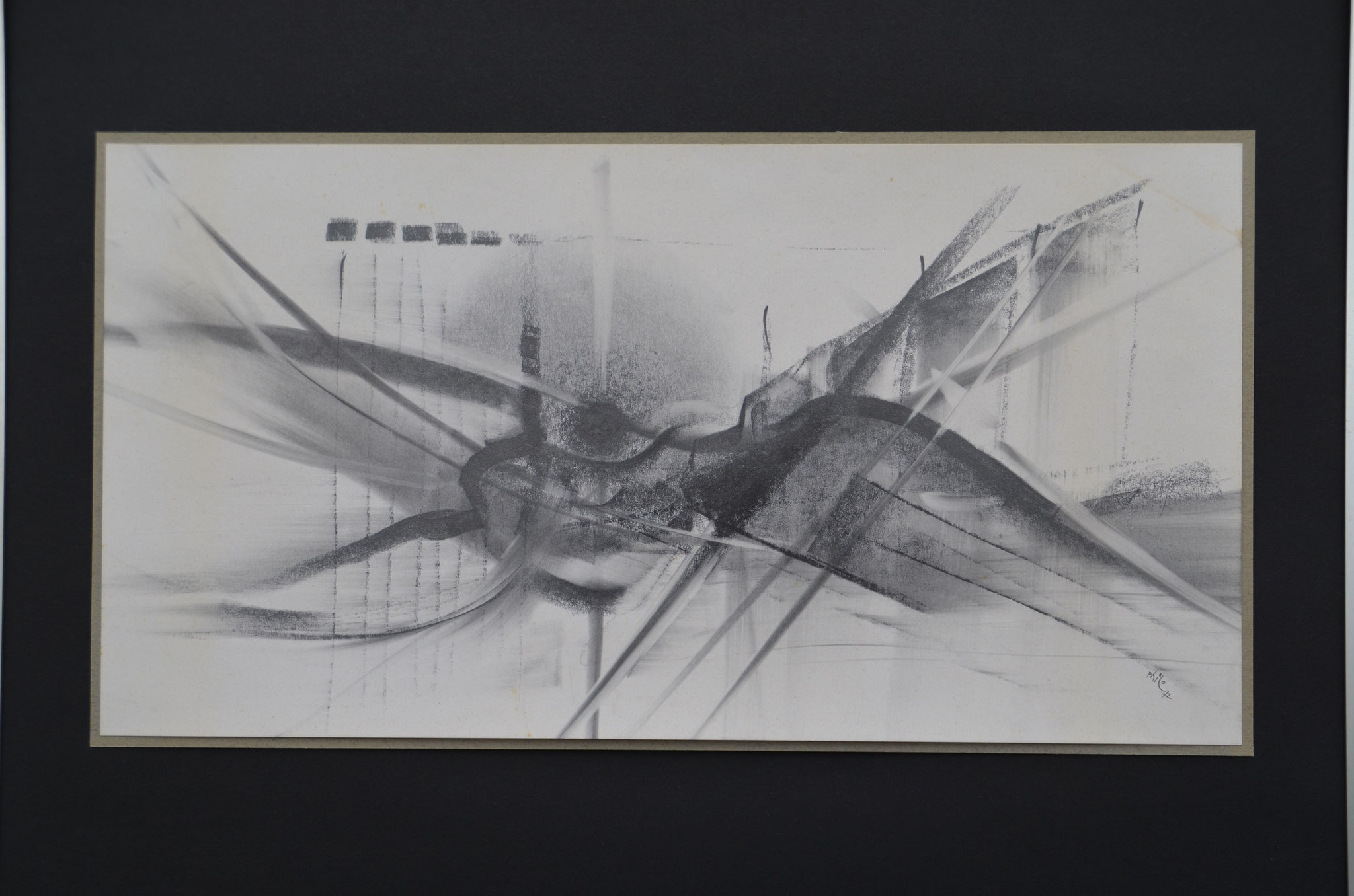 For Miles Davis- dessin 40x30cm 1972